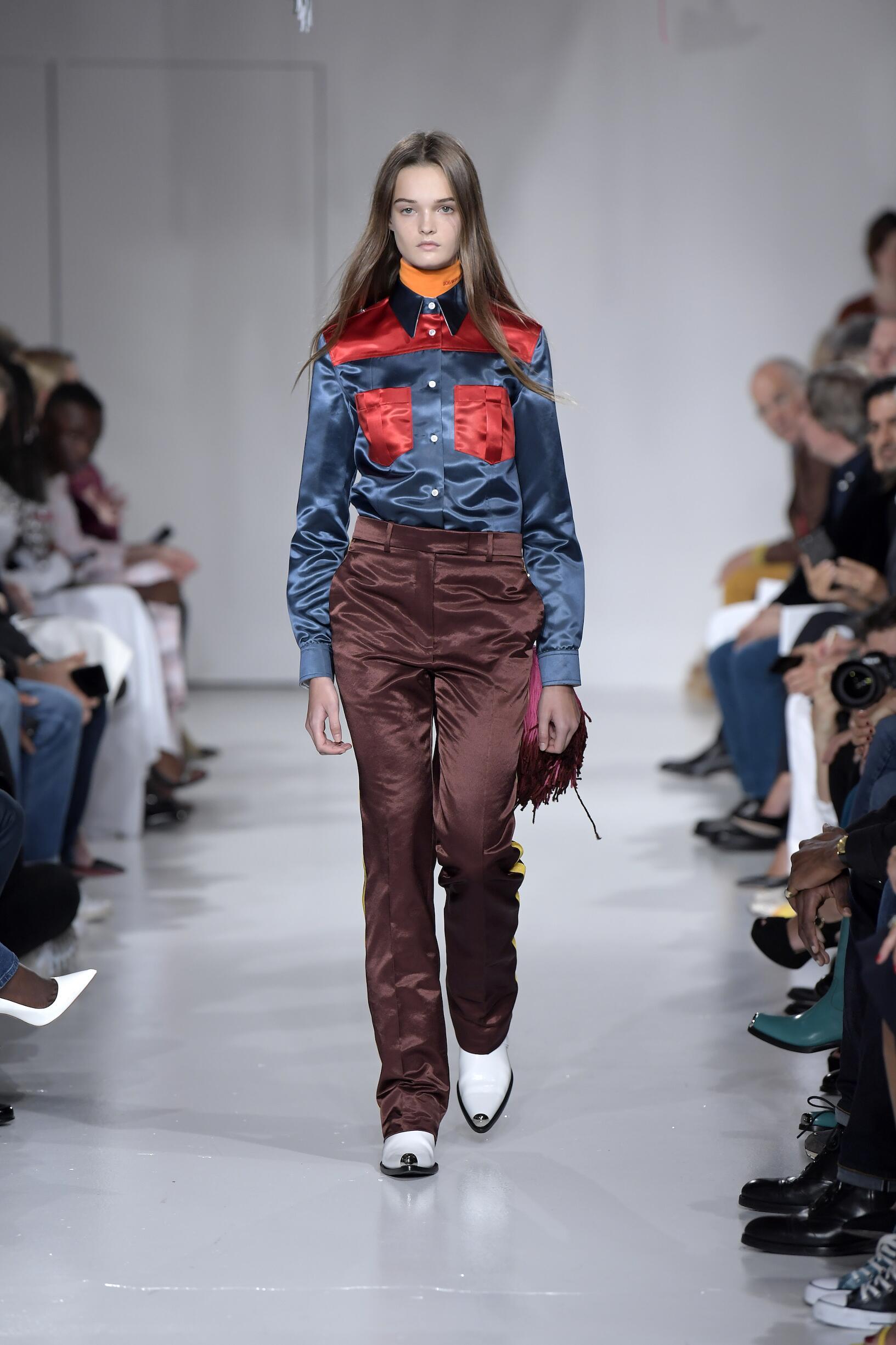 Calvin Klein 205W39NYC Fashion Show SS 2018