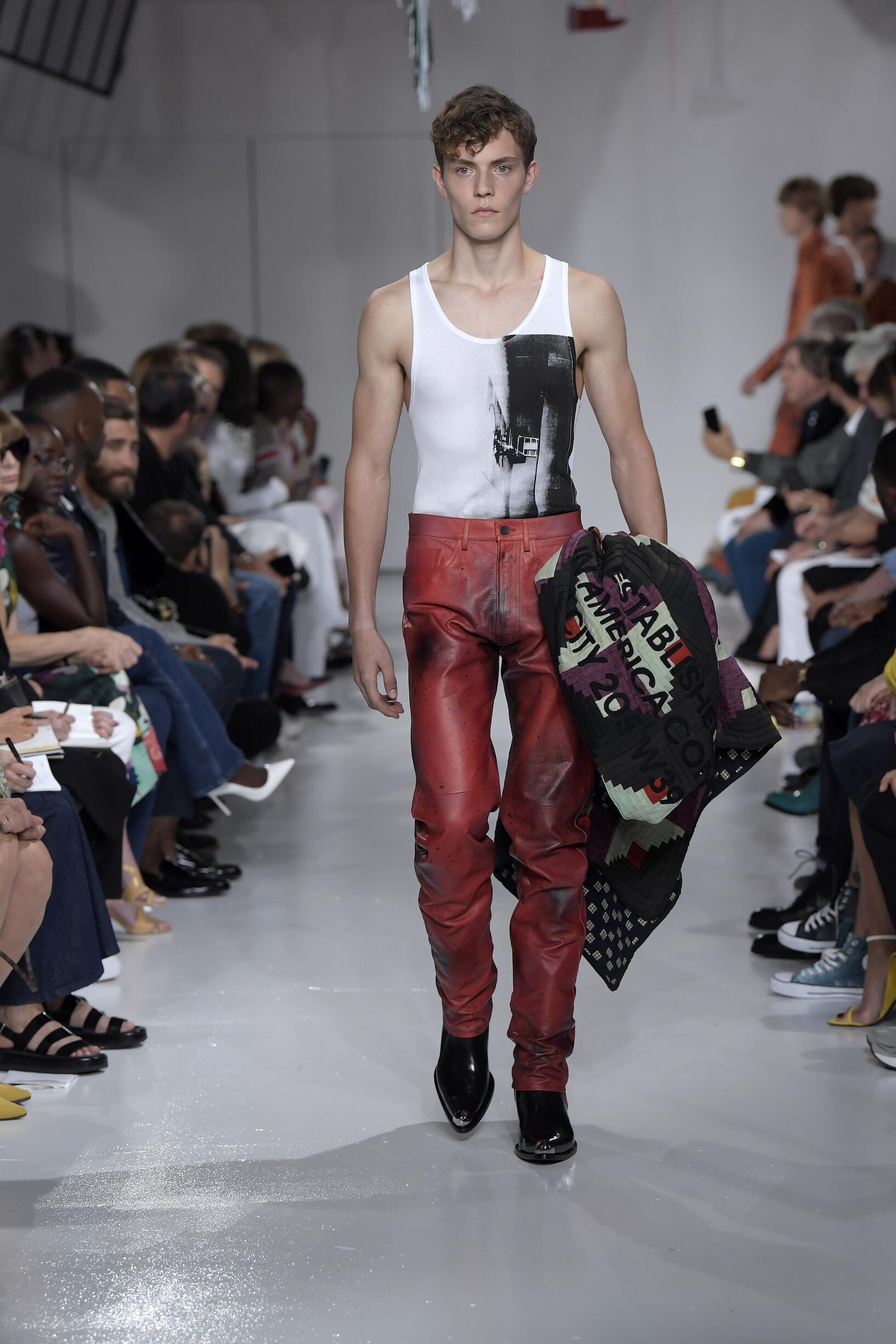Calvin Klein 205W39NYC Spring 2018 Catwalk