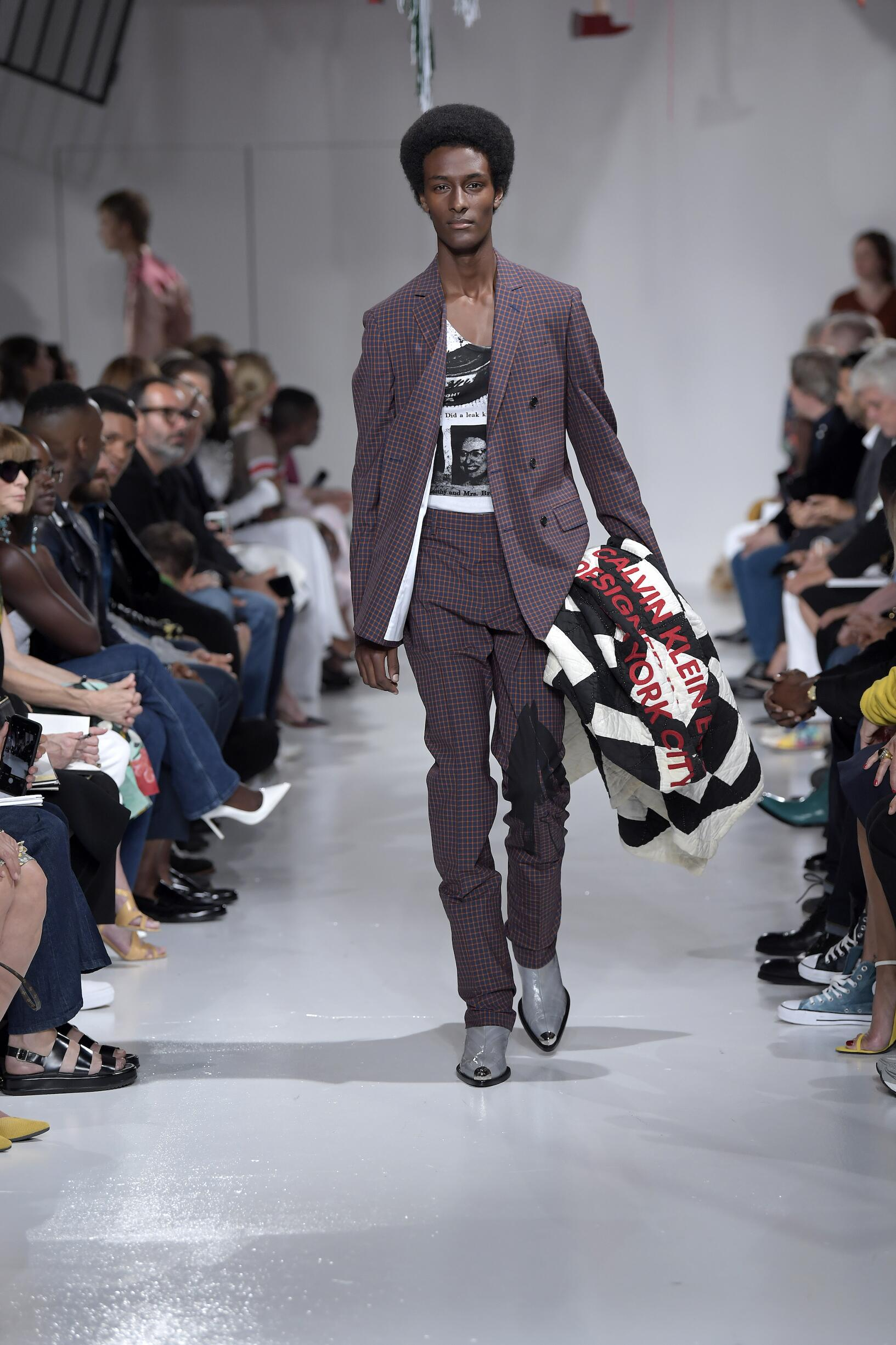 Calvin Klein 205W39NYC Spring Summer 2018 Mens Collection New York Fashion Week