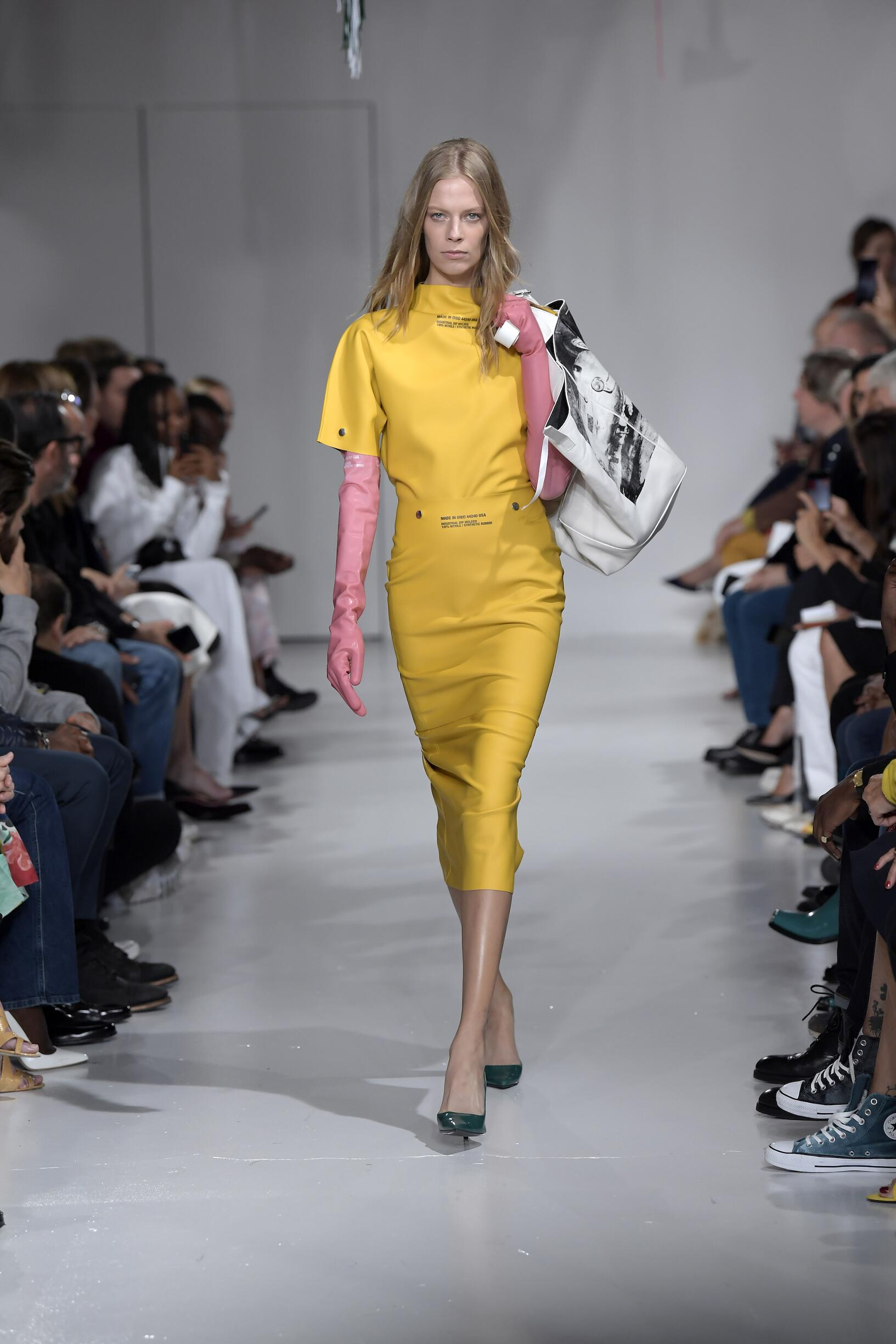 Calvin Klein 205W39NYC Womenswear Collection Trends