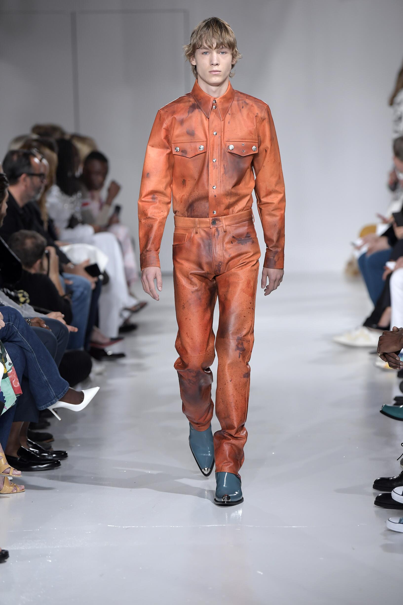 Catwalk Calvin Klein 205W39NYC Summer 2018
