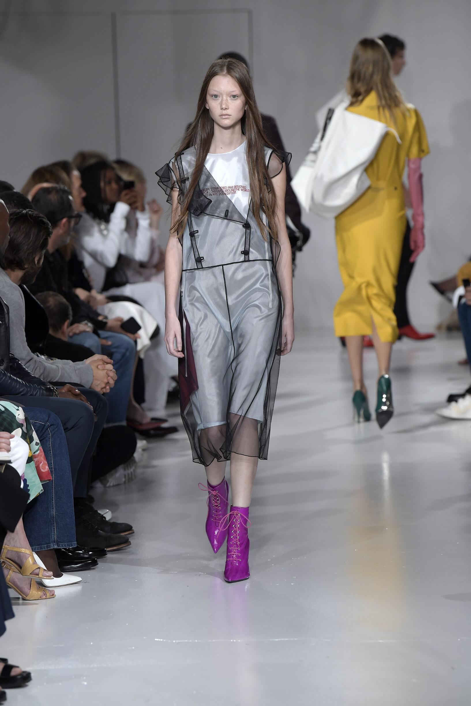 Fashion 2018 Runway Calvin Klein 205W39NYC SS