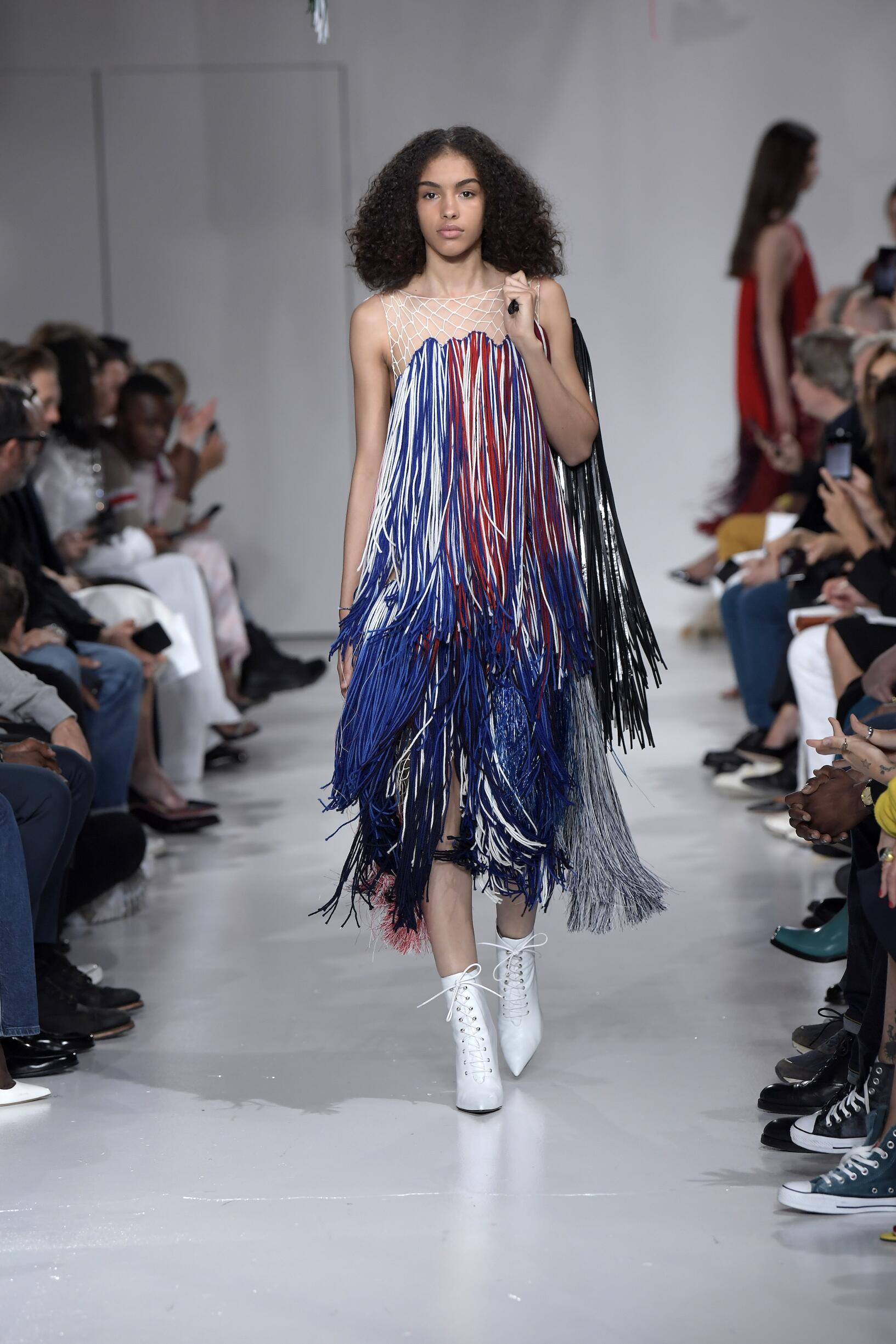 Fashion 2018 Runway Calvin Klein 205W39NYC Summer Woman