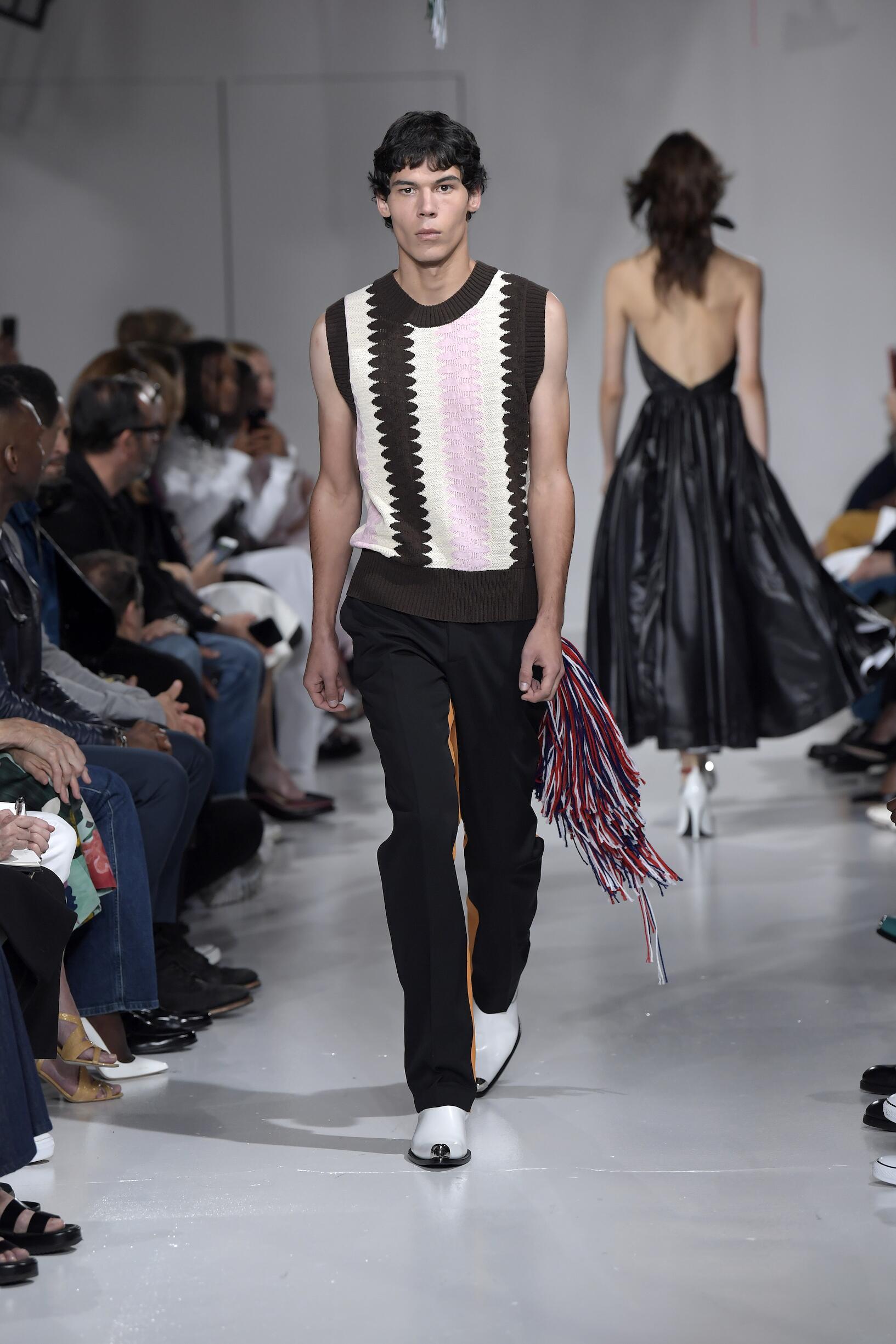 Fashion 2018 Runway Calvin Klein 205W39NYC Summer