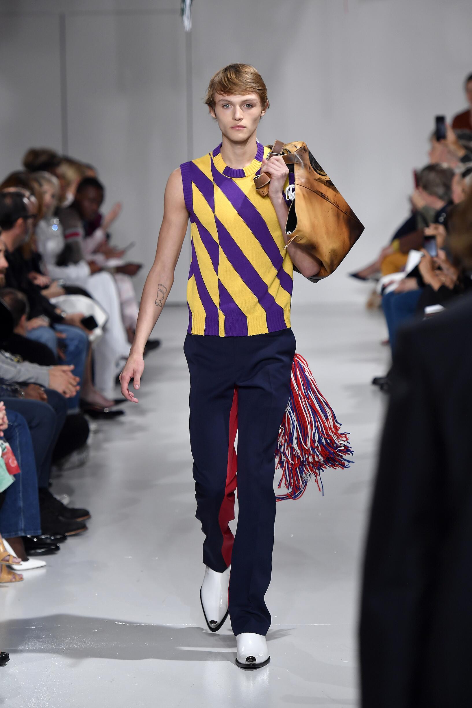 Fashion Week 2018 Catwalk Calvin Klein 205W39NYC