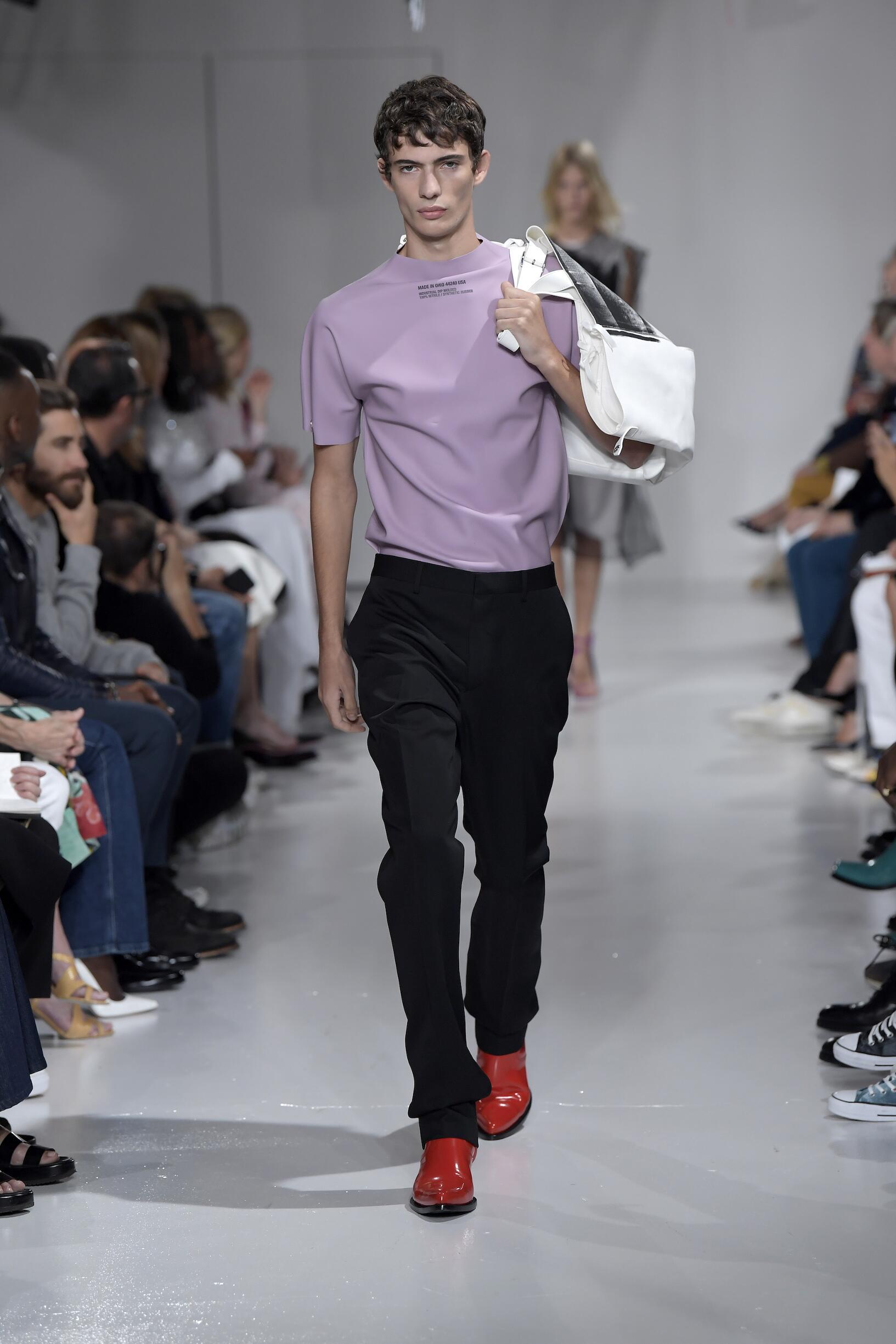Menswear Spring Summer Calvin Klein 205W39NYC 2018