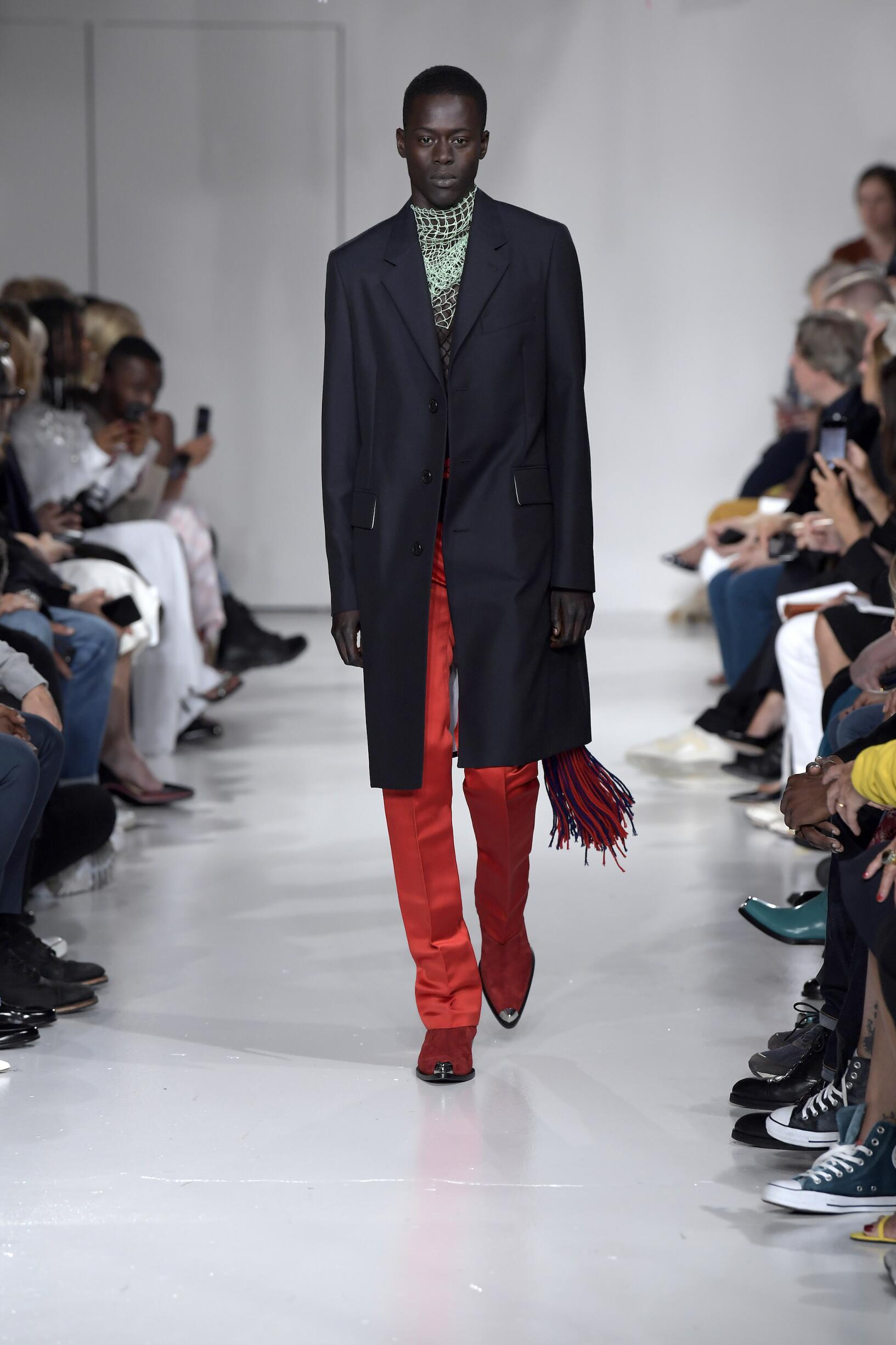 Model Fashion Week 2018 Catwalk Calvin Klein 205W39NYC