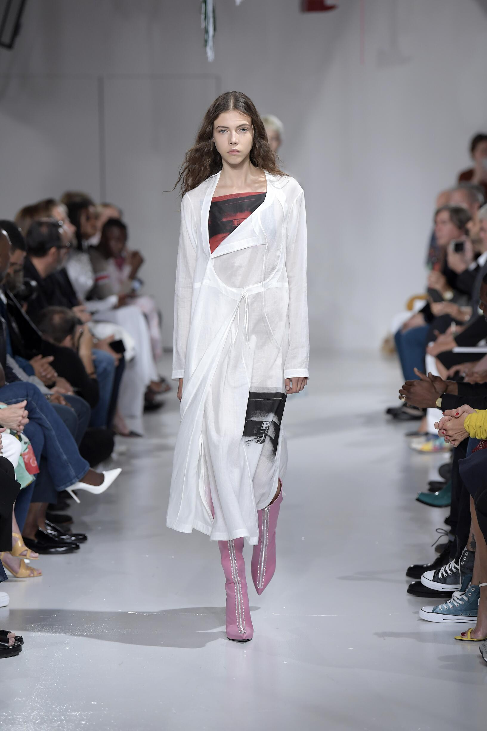 Runway Calvin Klein 205W39NYC Spring Summer 2018 Women's Collection New York Fashion Week