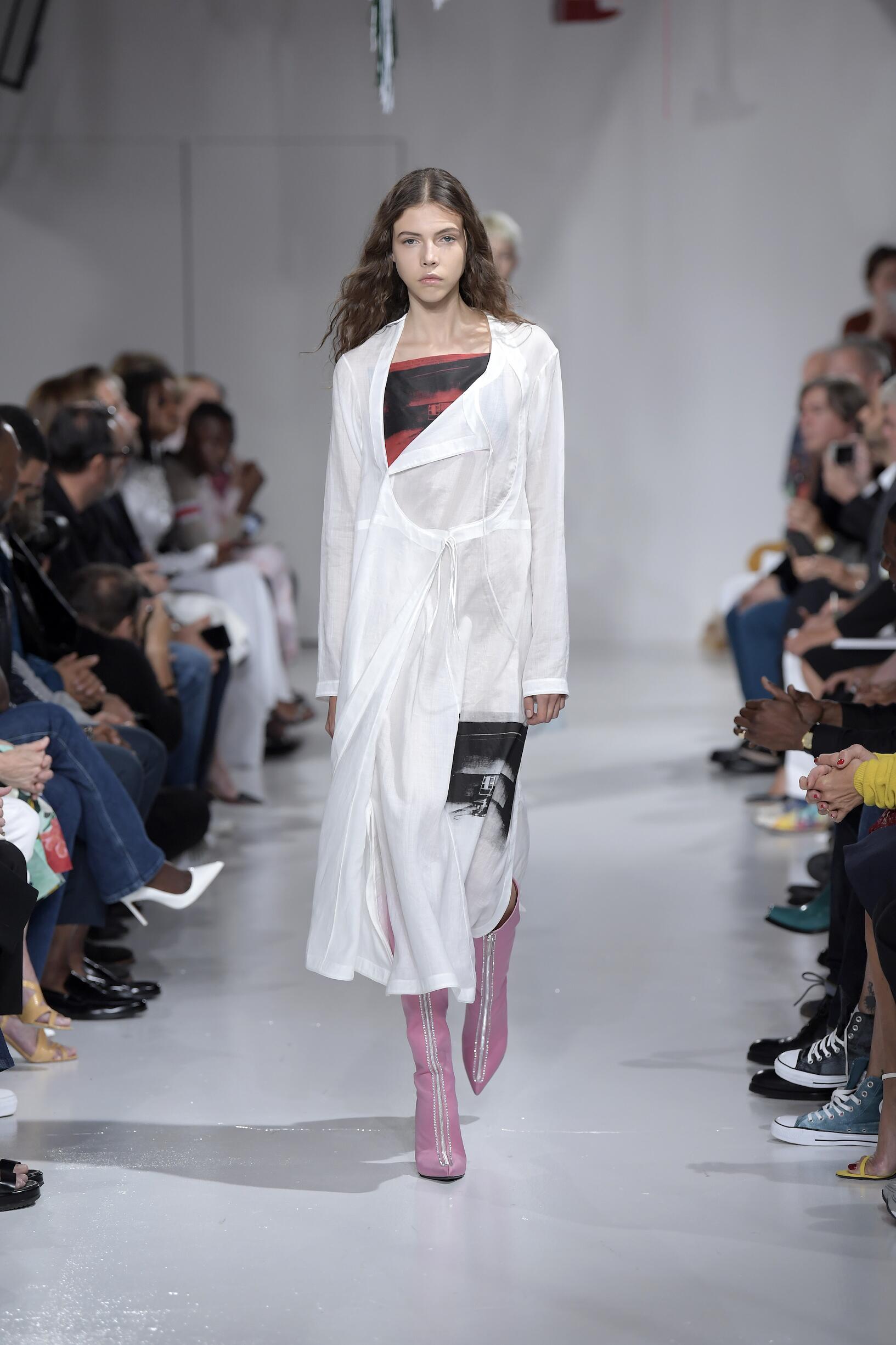 Runway Calvin Klein 205W39NYC Spring Summer 2018 Women's Collection New York Fashion Week