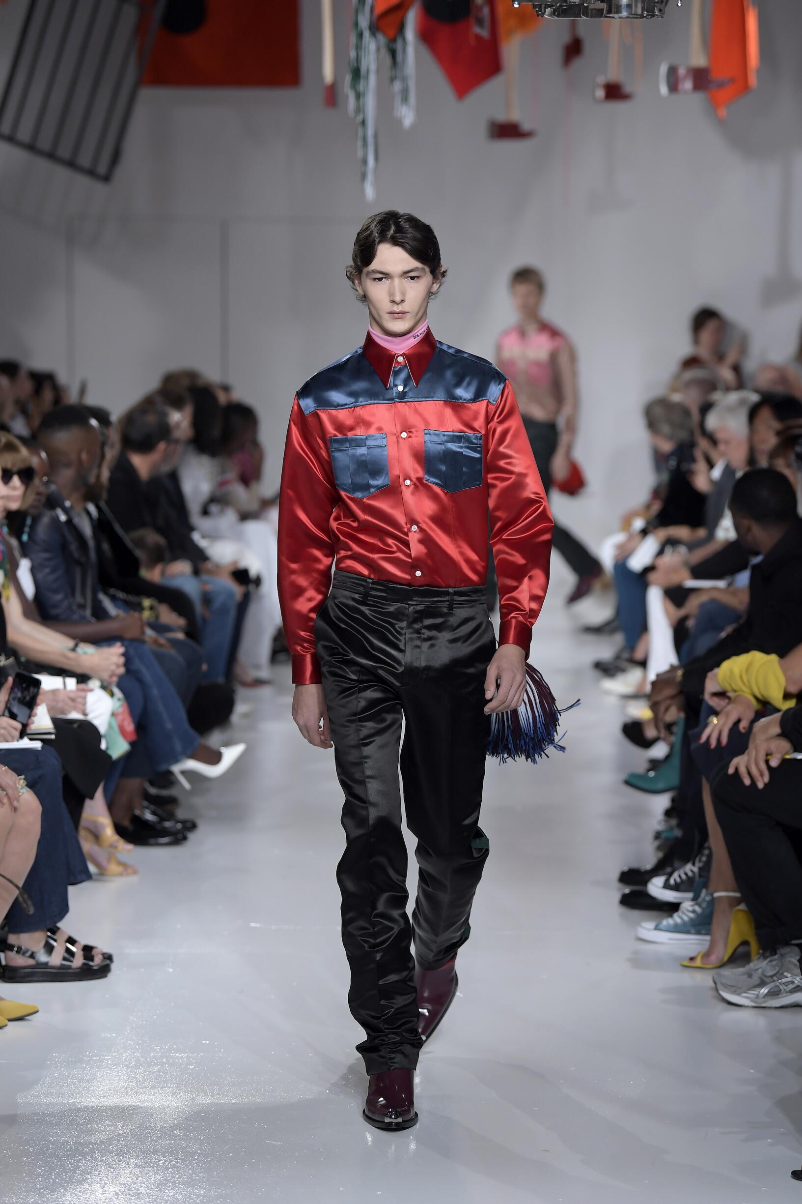 SS 2018 Calvin Klein 205W39NYC Fashion Show
