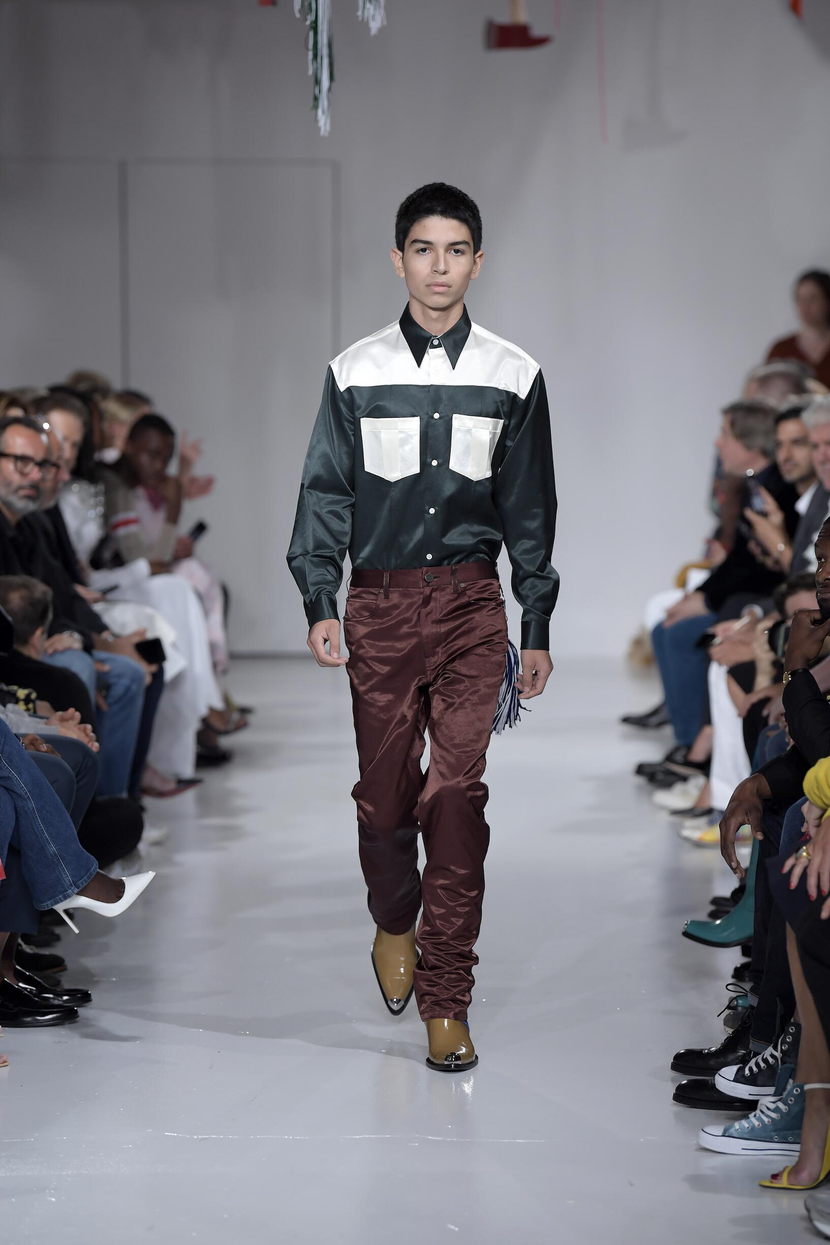Spring 2018 Menswear Calvin Klein 205W39NYC