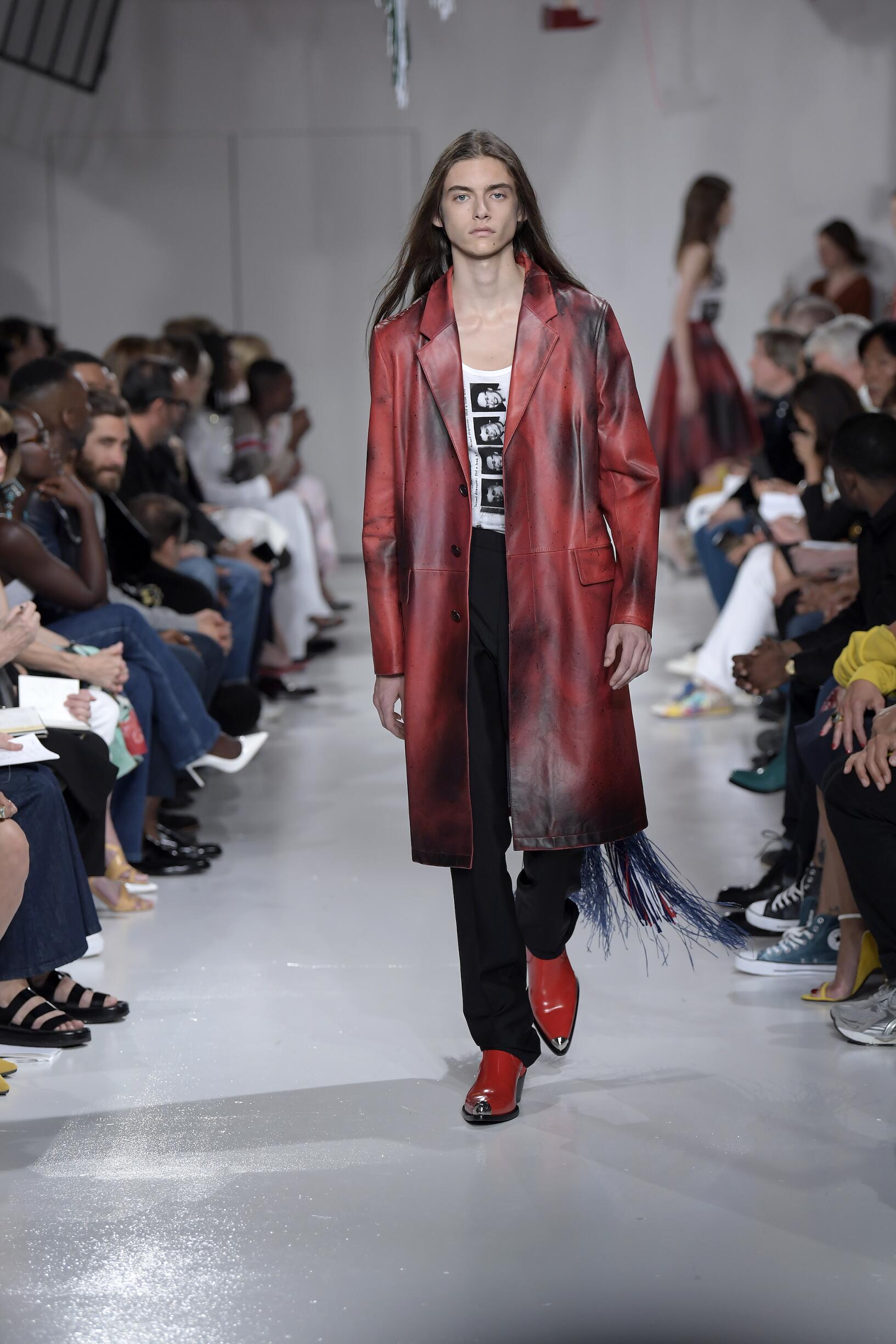Spring Summer 2018 Man New York Calvin Klein 205W39NYC Collection