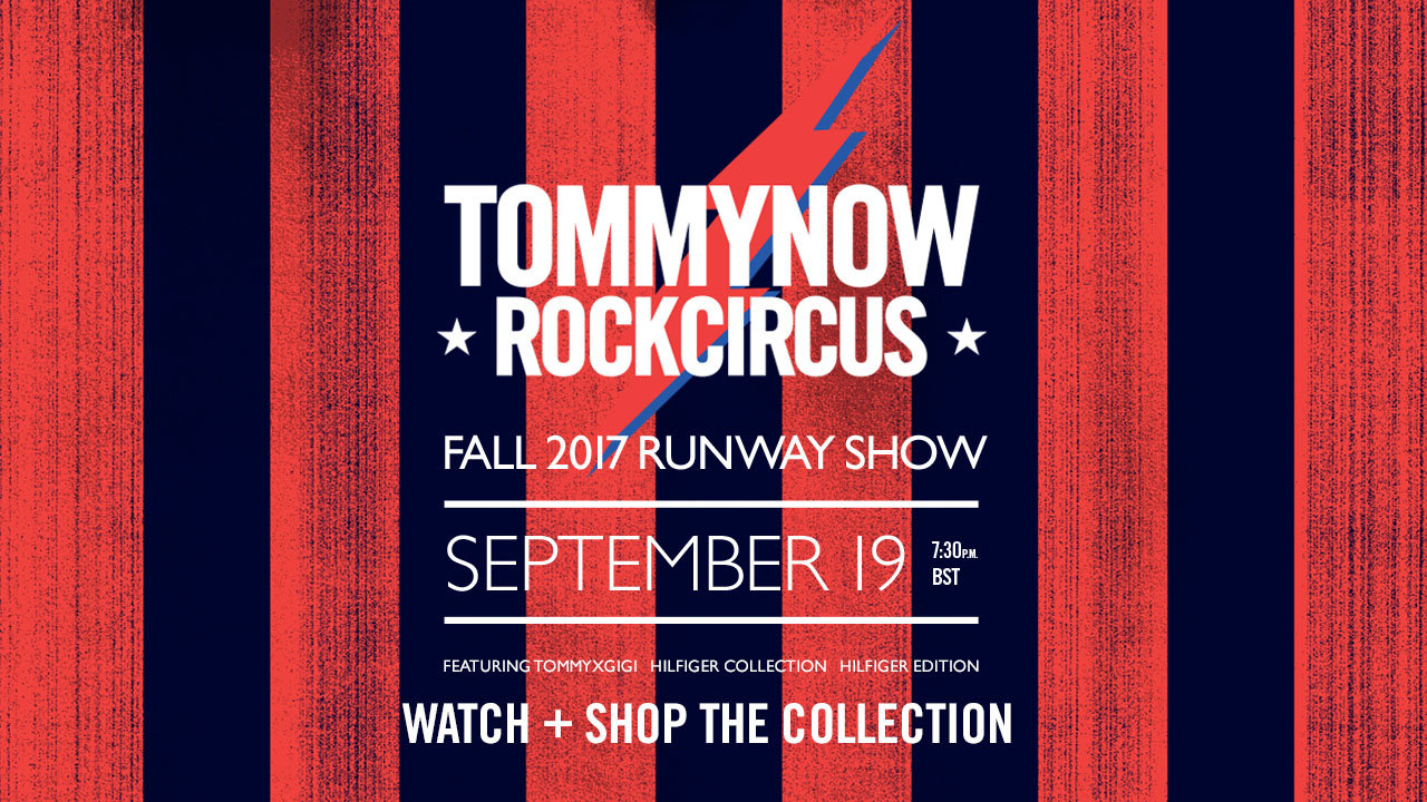 Tommy Now Fall Winter 2017 Fashion Show Live Streaming