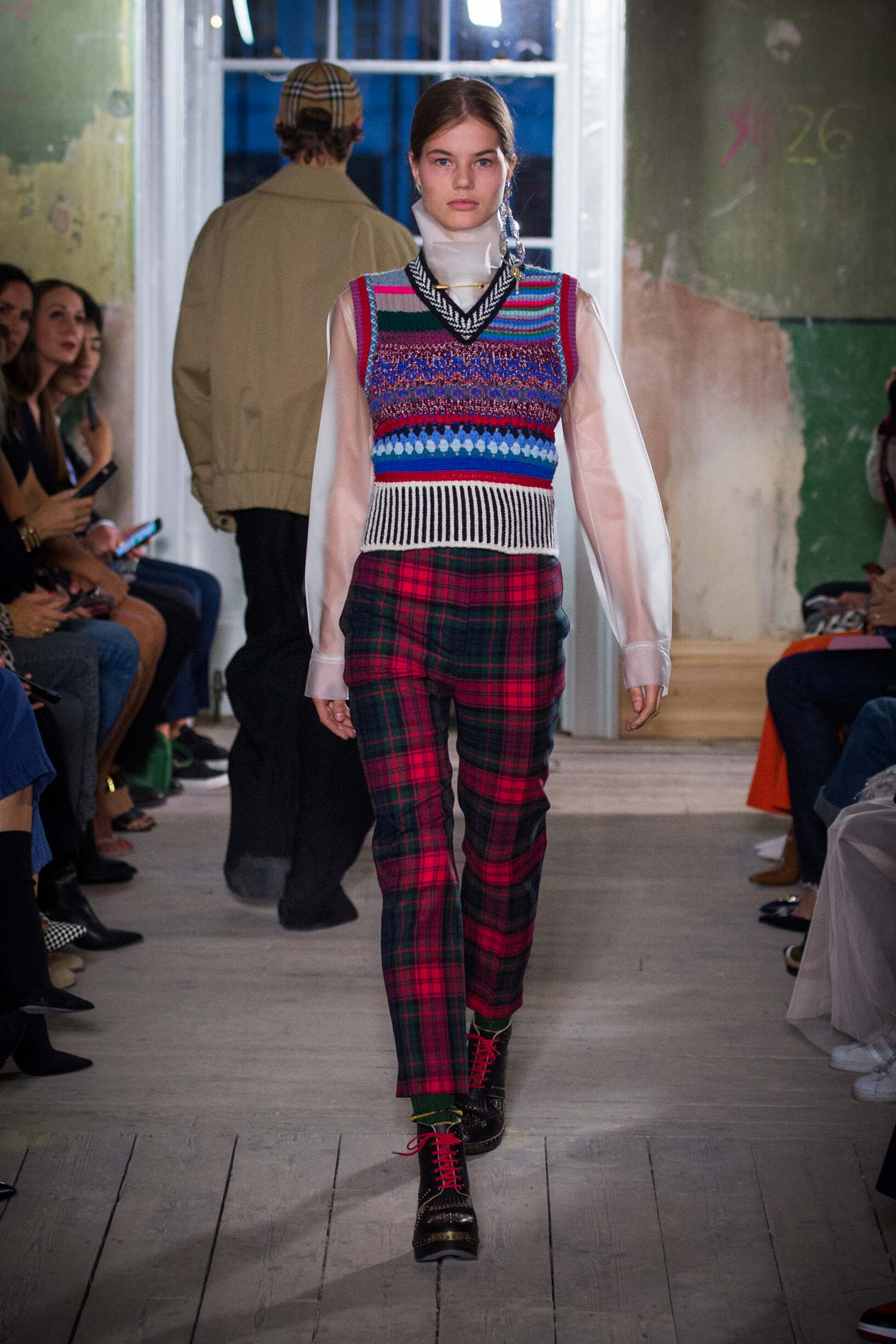 Burberry September 2017 Collection Look 27 London Fashion Week