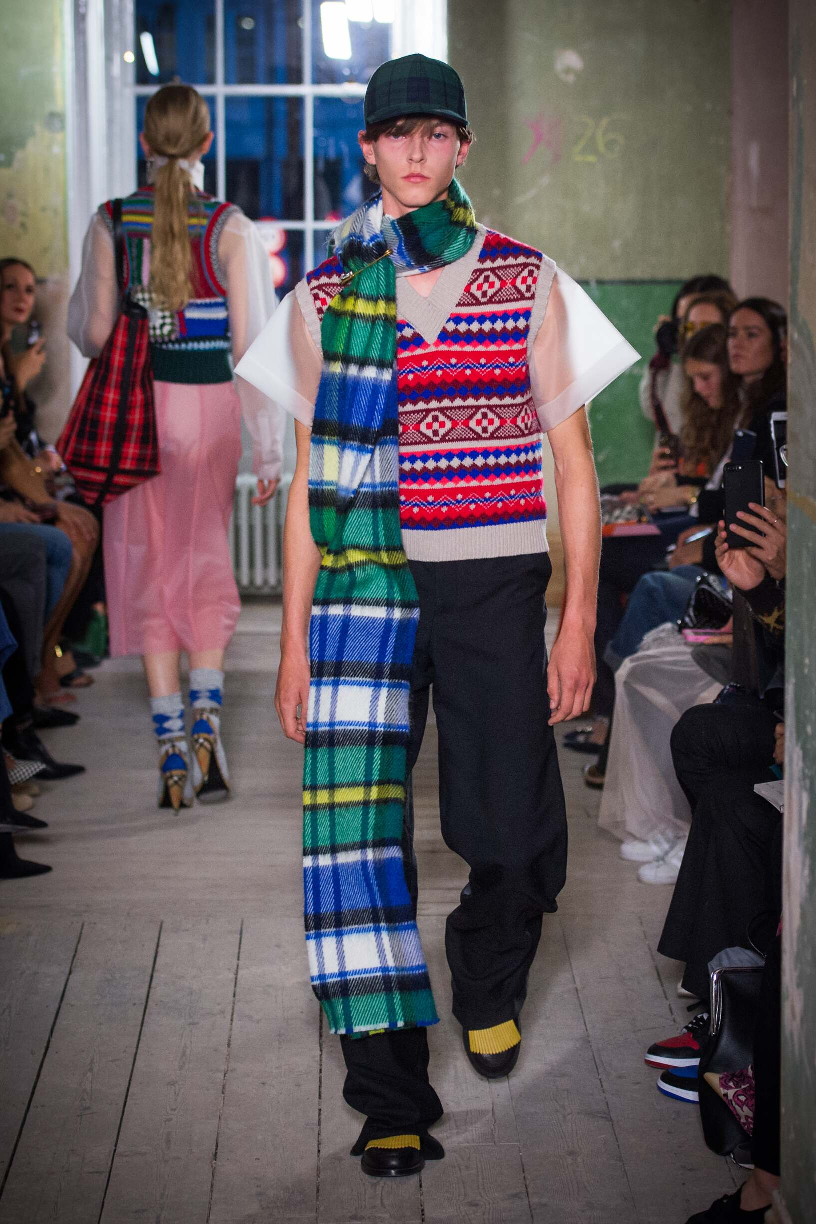 Burberry September 2017 Collection Look 29 London Fashion Week