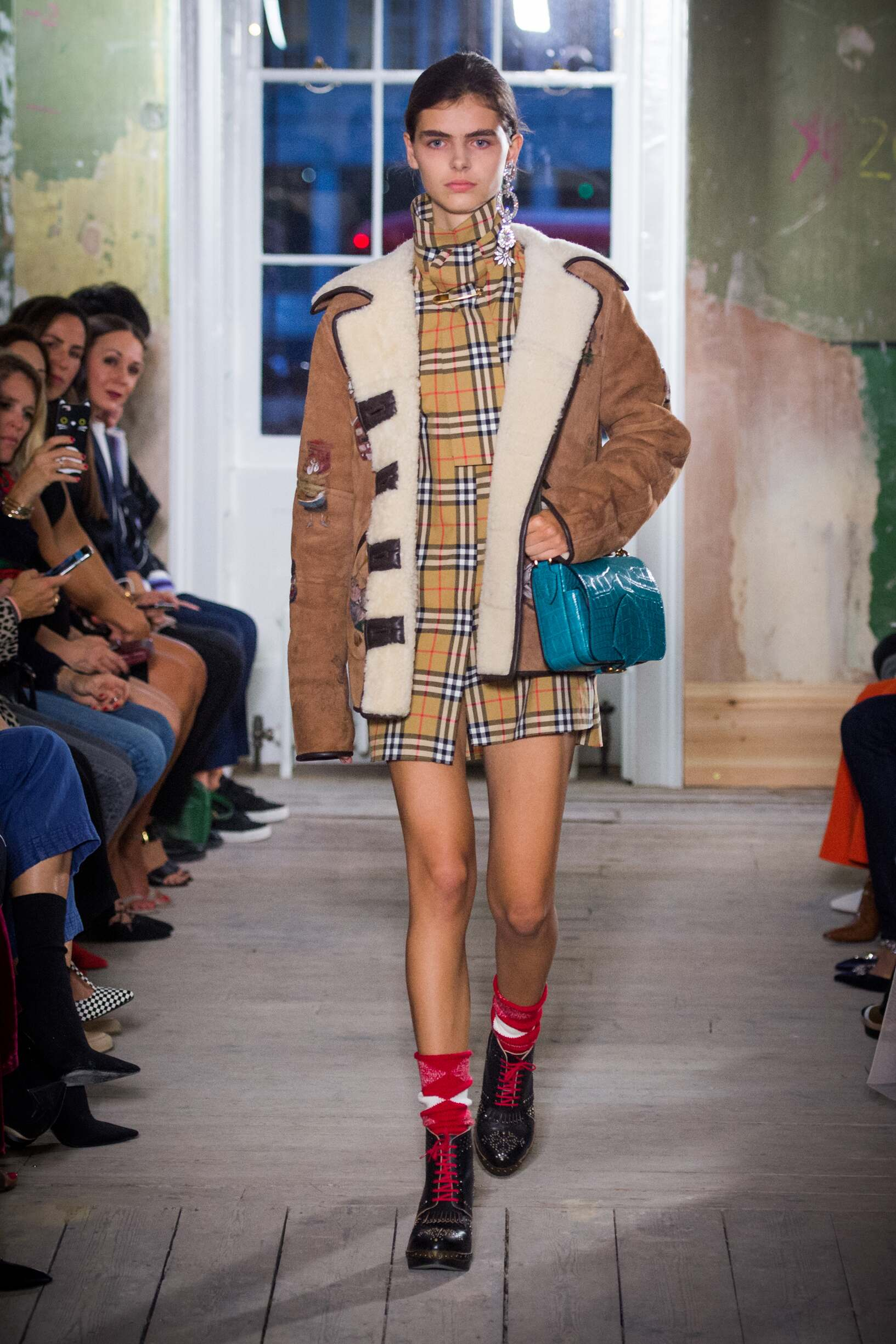 Burberry September 2017 Collection Look 44 London Fashion Week