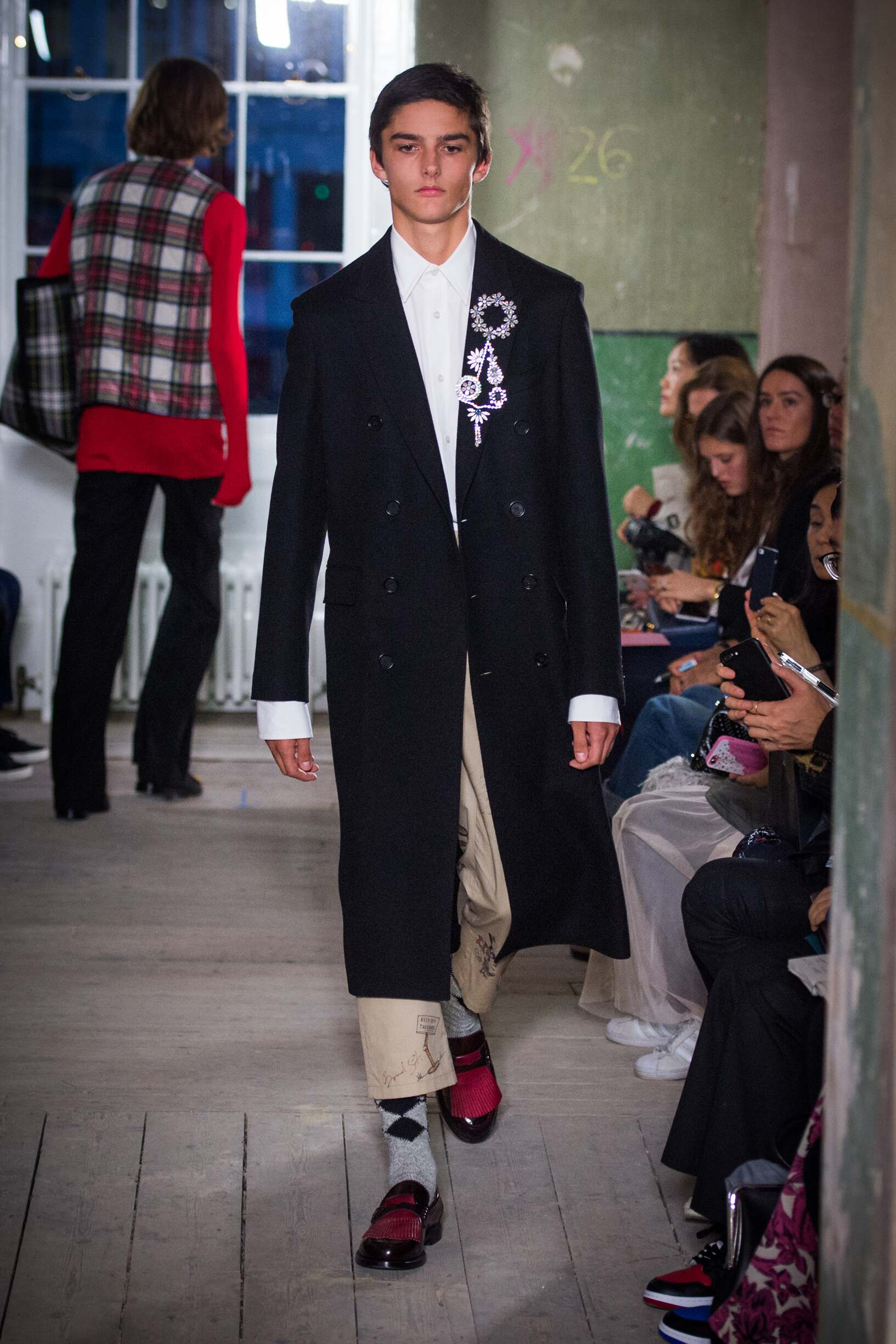 Burberry September 2017 Collection Look 46 London Fashion Week