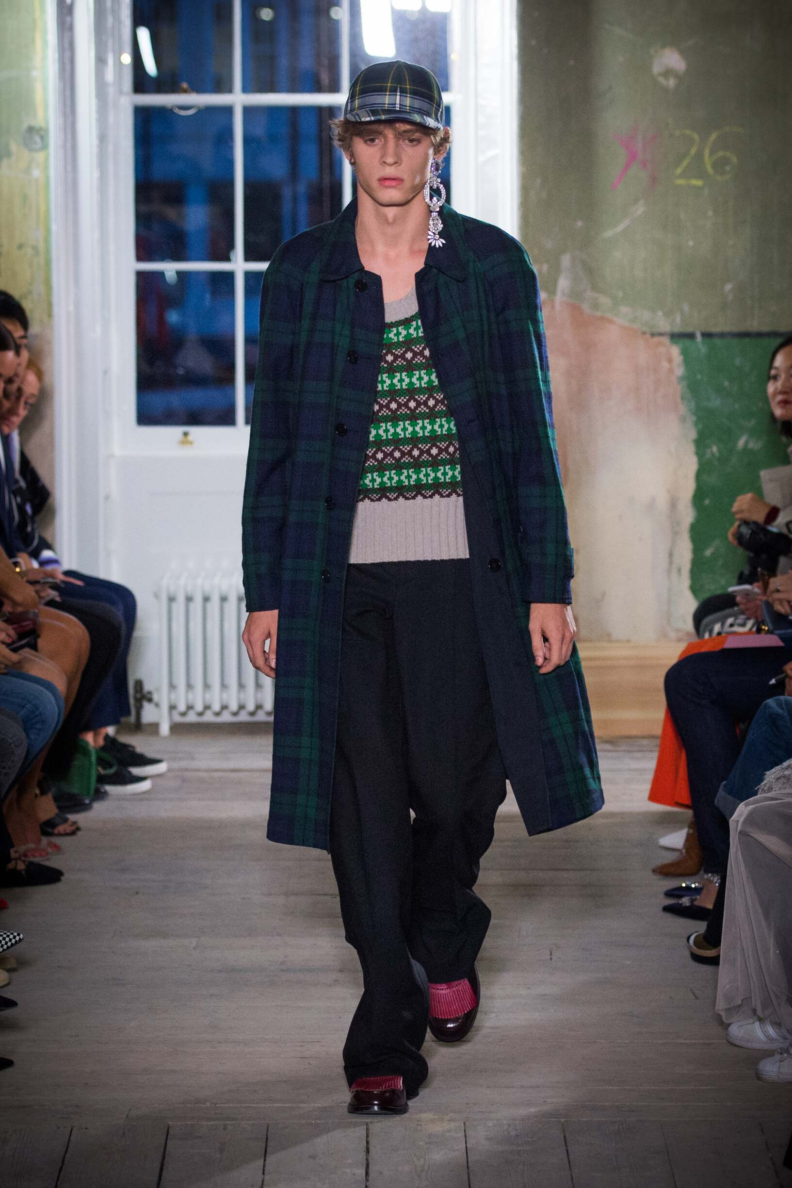 Burberry September 2017 Collection Look 48 London Fashion Week