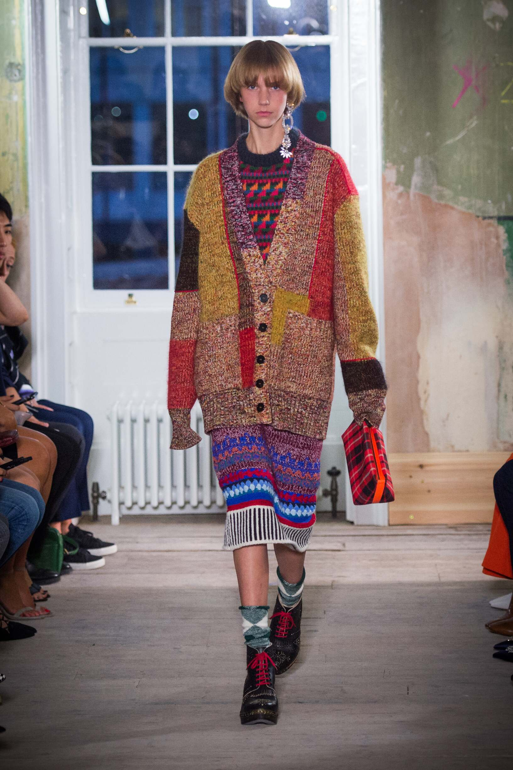 Burberry September 2017 Collection Look 54 London Fashion Week