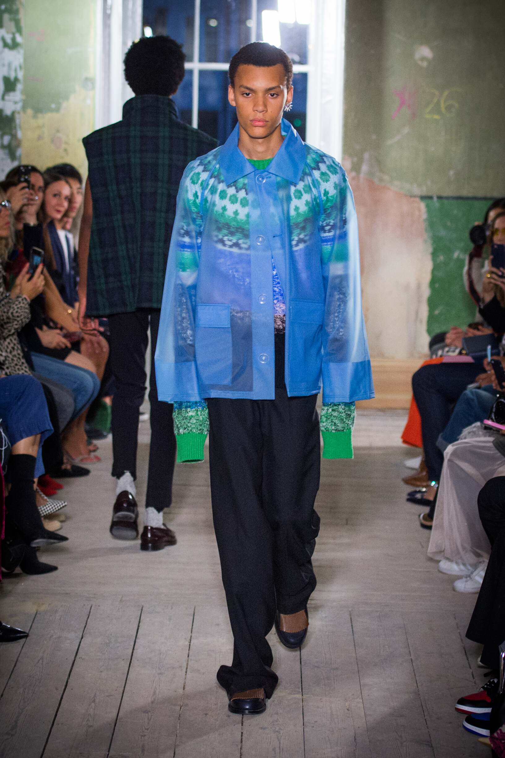 Burberry September 2017 Collection Look 58 London Fashion Week