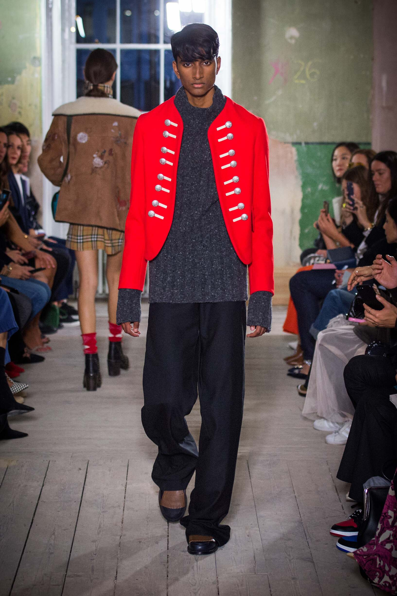 Burberry September 2017 Collection Look 65 London Fashion Week