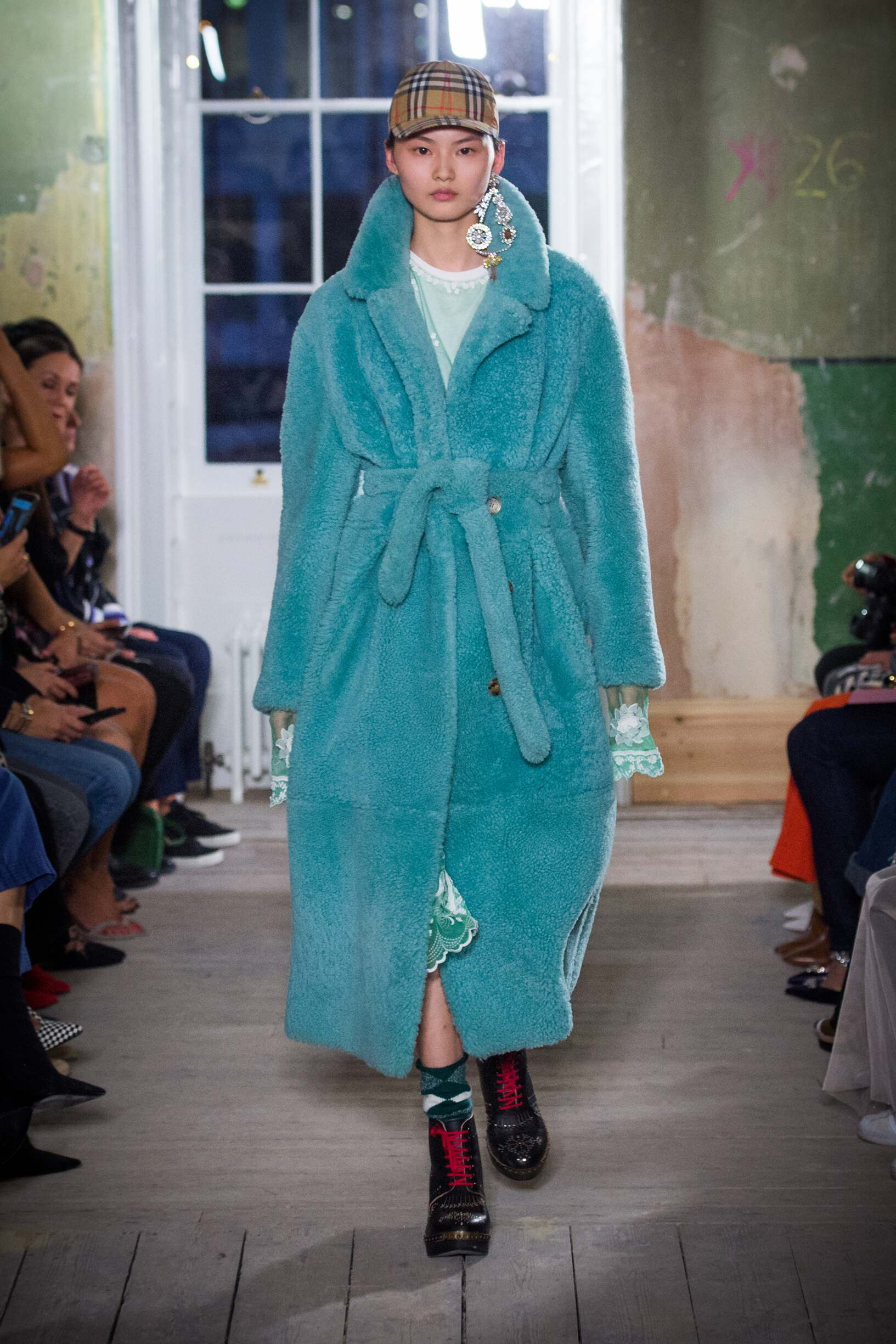 Burberry September 2017 Collection Look 67 London Fashion Week