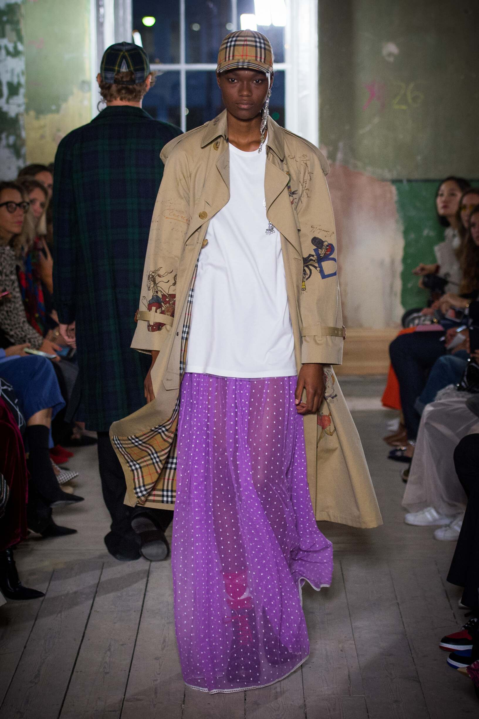 Burberry September 2017 Collection Look 71 London Fashion Week