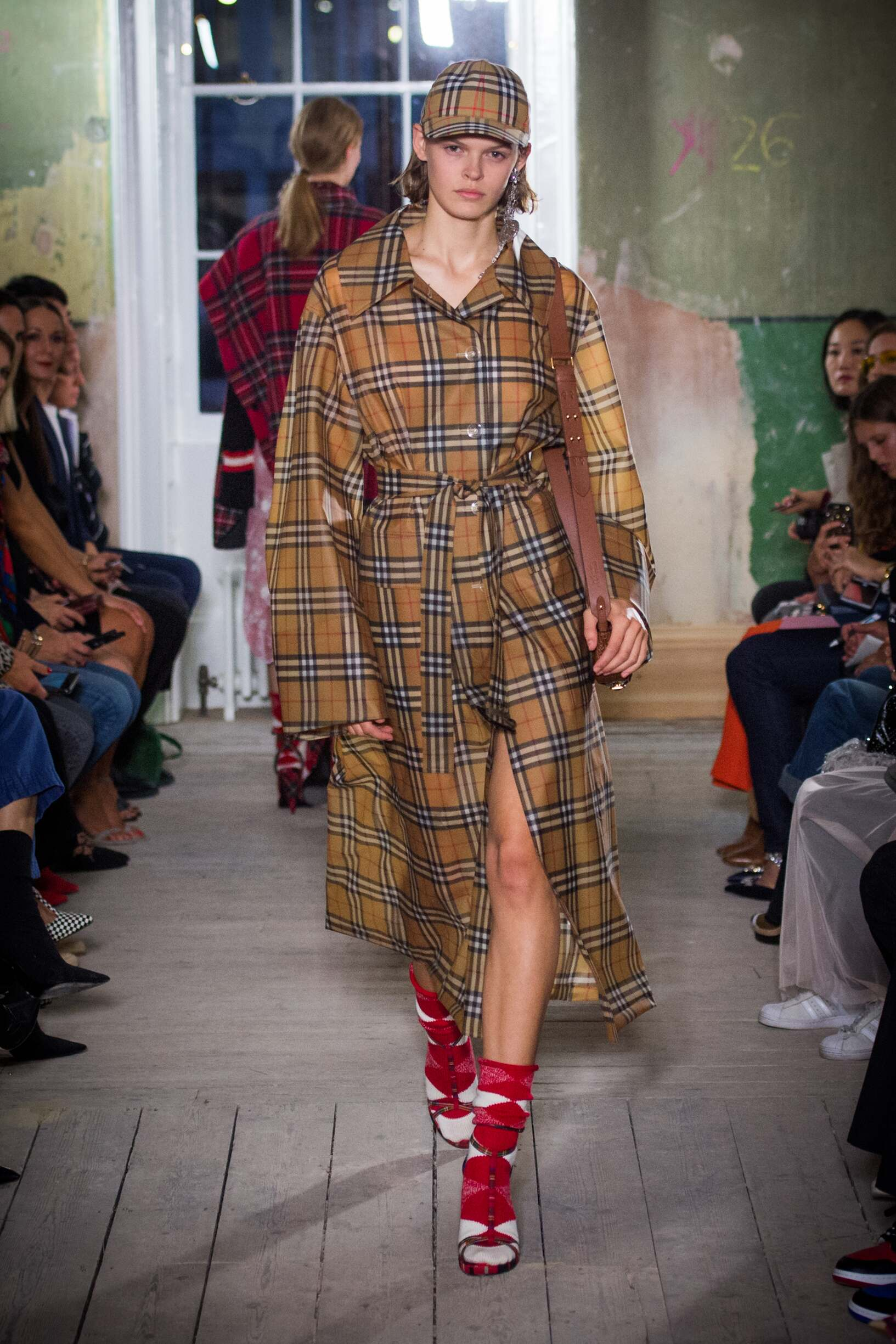 Burberry September 2017 Collection Look 73 London Fashion Week