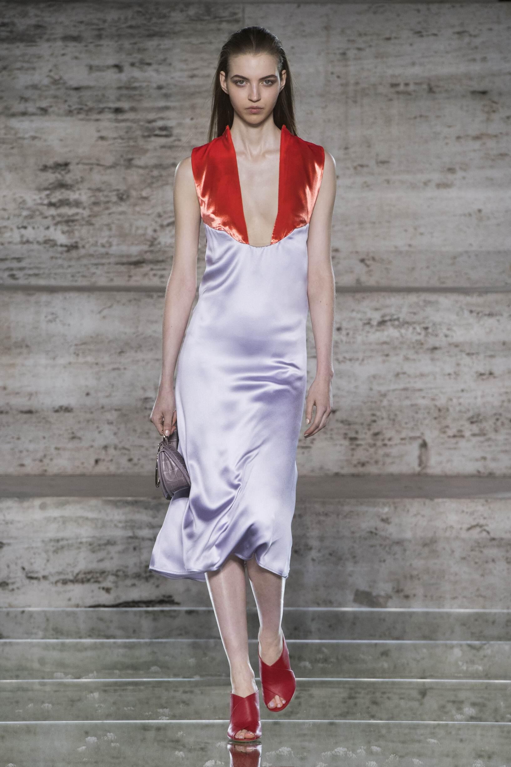2018 Catwalk Salvatore Ferragamo Woman Fashion Show Summer