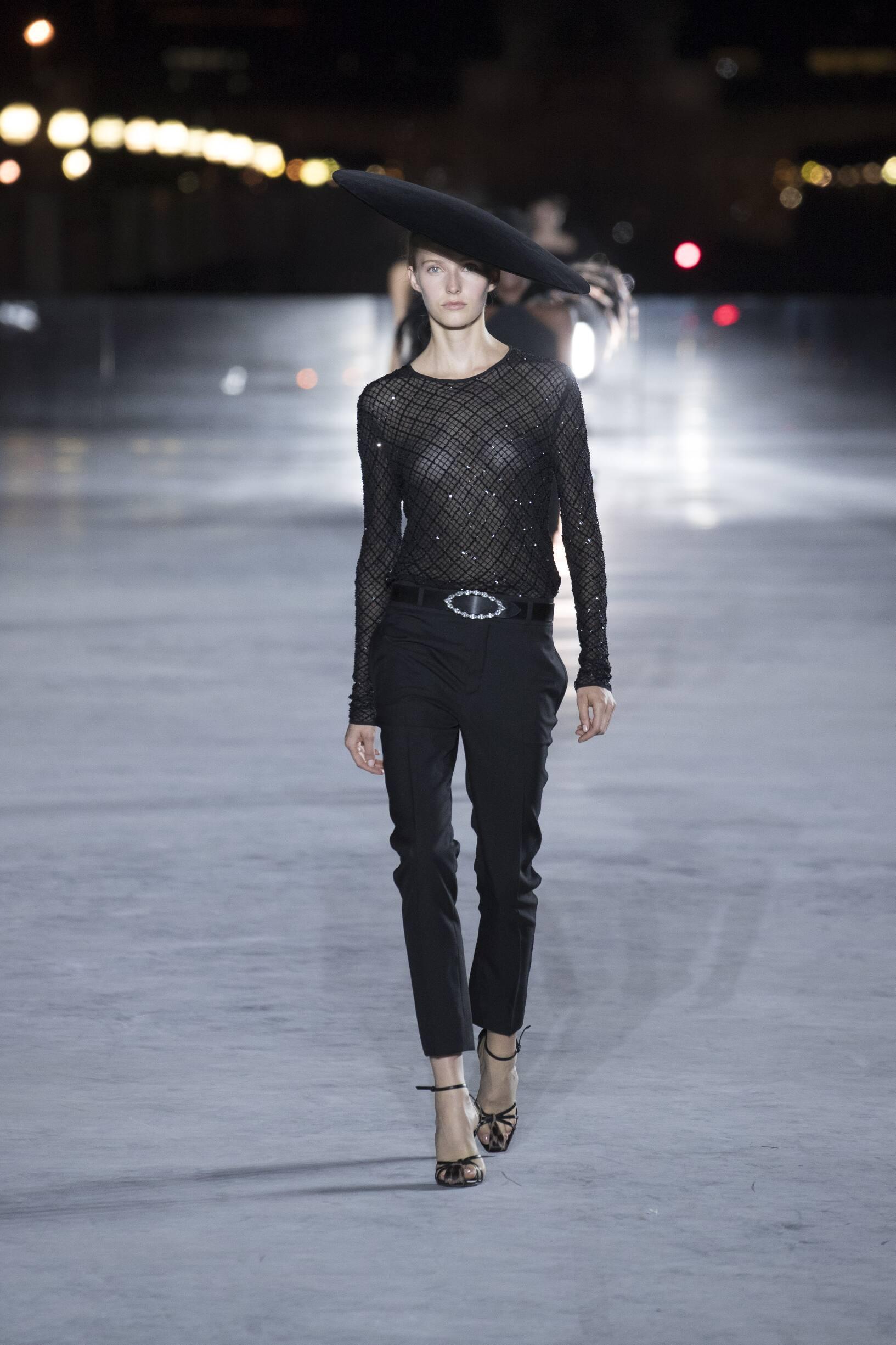 2018 Saint Laurent Trends Paris Fashion Week