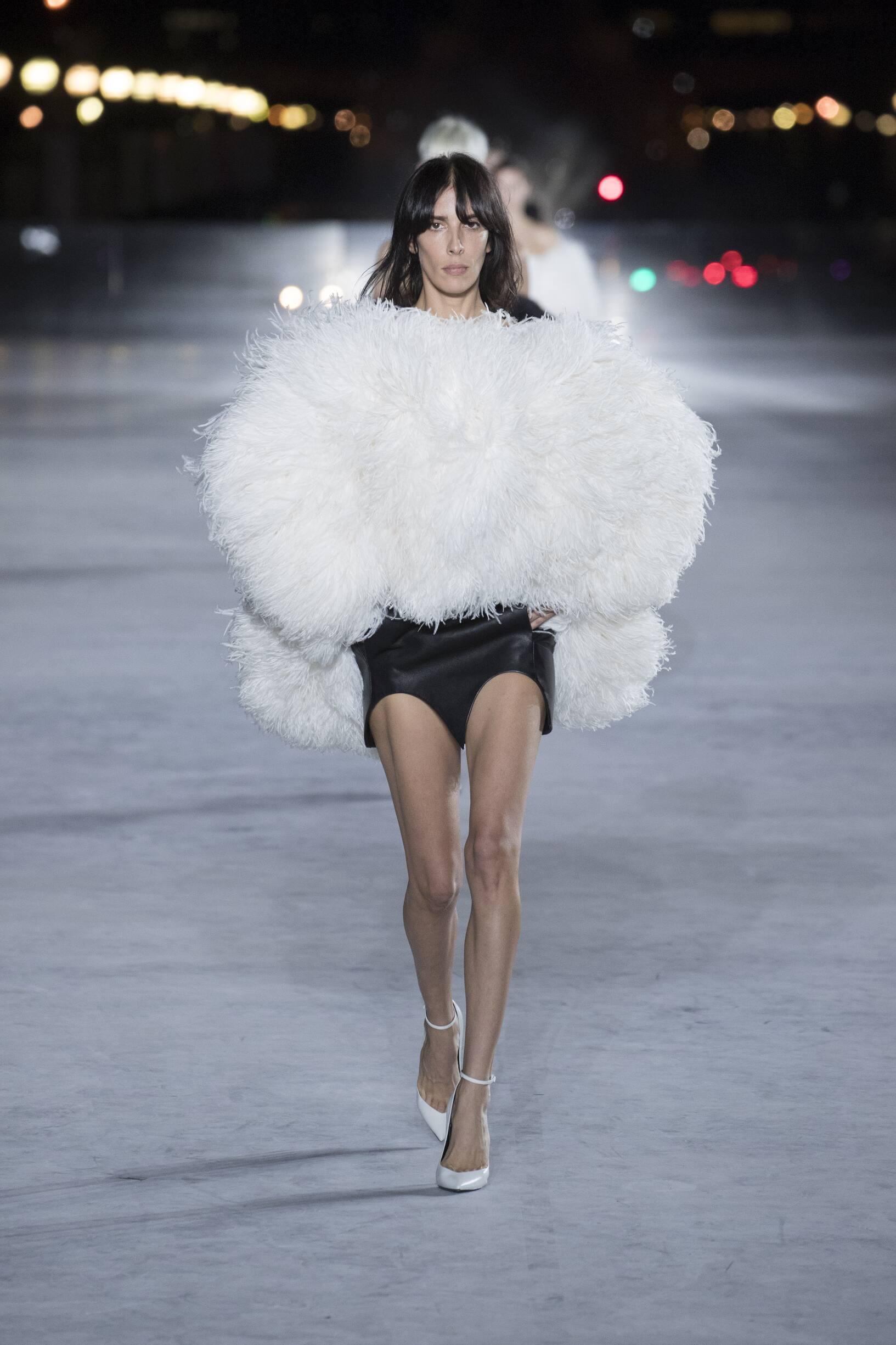 2018 Saint Laurent Trends Paris Fashion