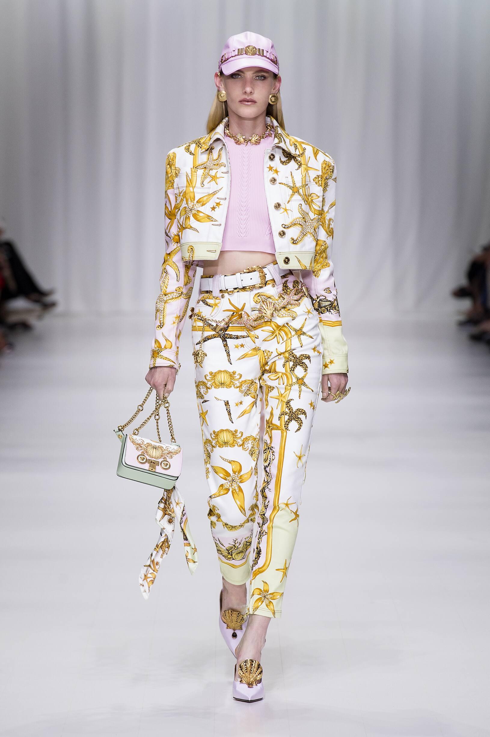 2018 Versace Summer Catwalk