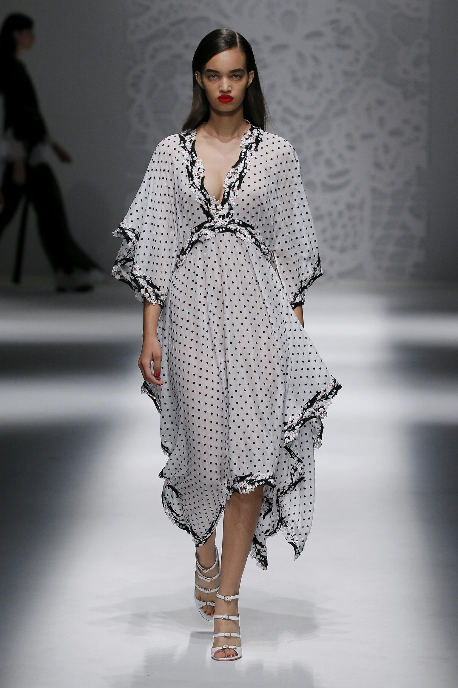 summer spring collection blumarine milan week womens
