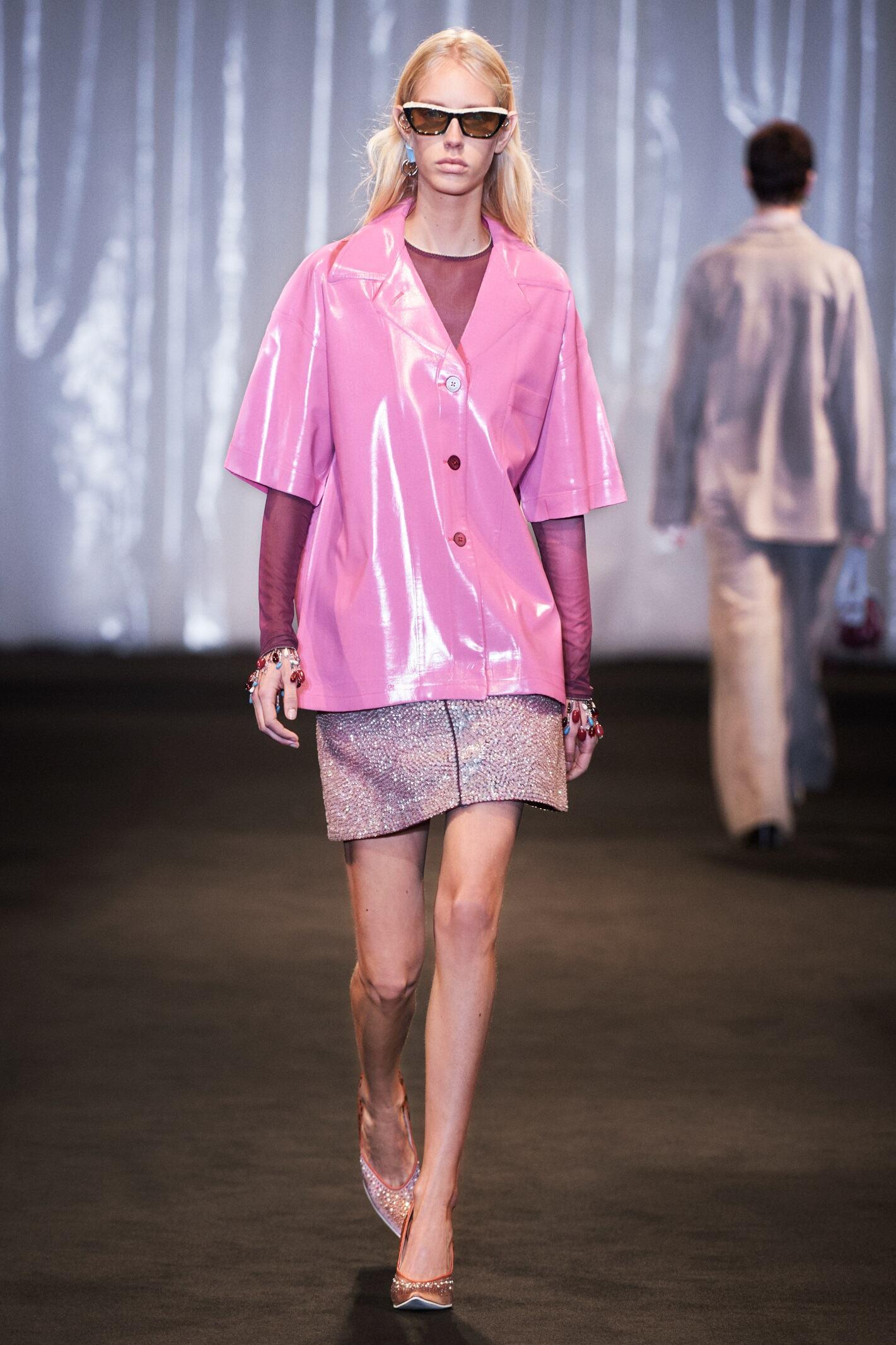 Catwalk Acne Studios Woman Fashion Show Summer 2018