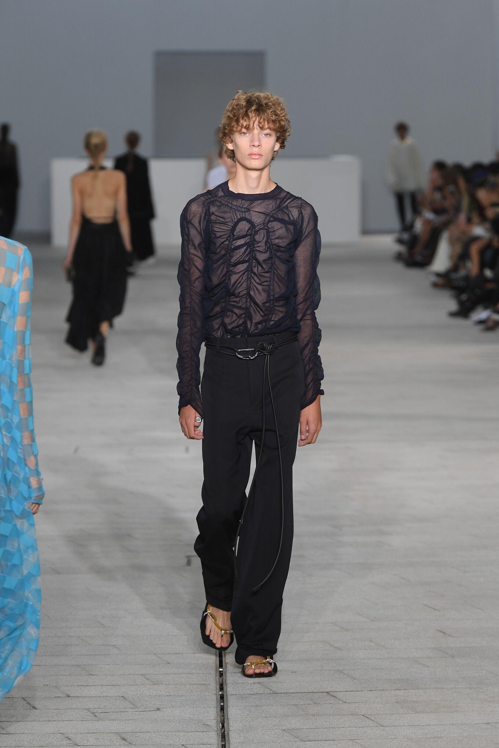 Catwalk Man Jil Sander Summer 2018