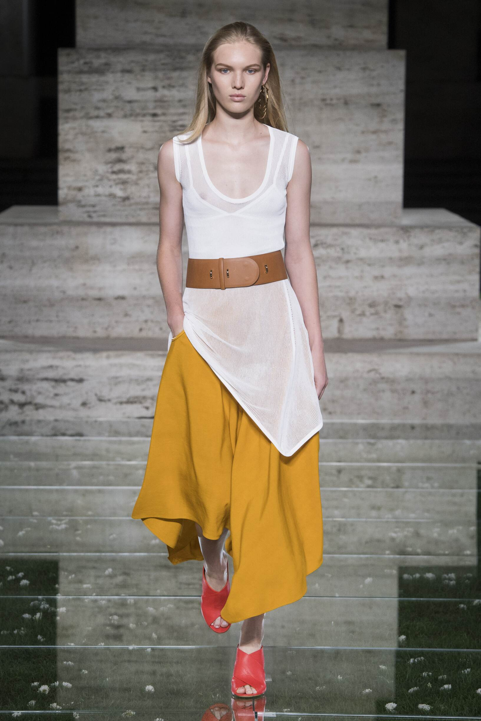 Catwalk Salvatore Ferragamo Woman Fashion Show Summer 2018