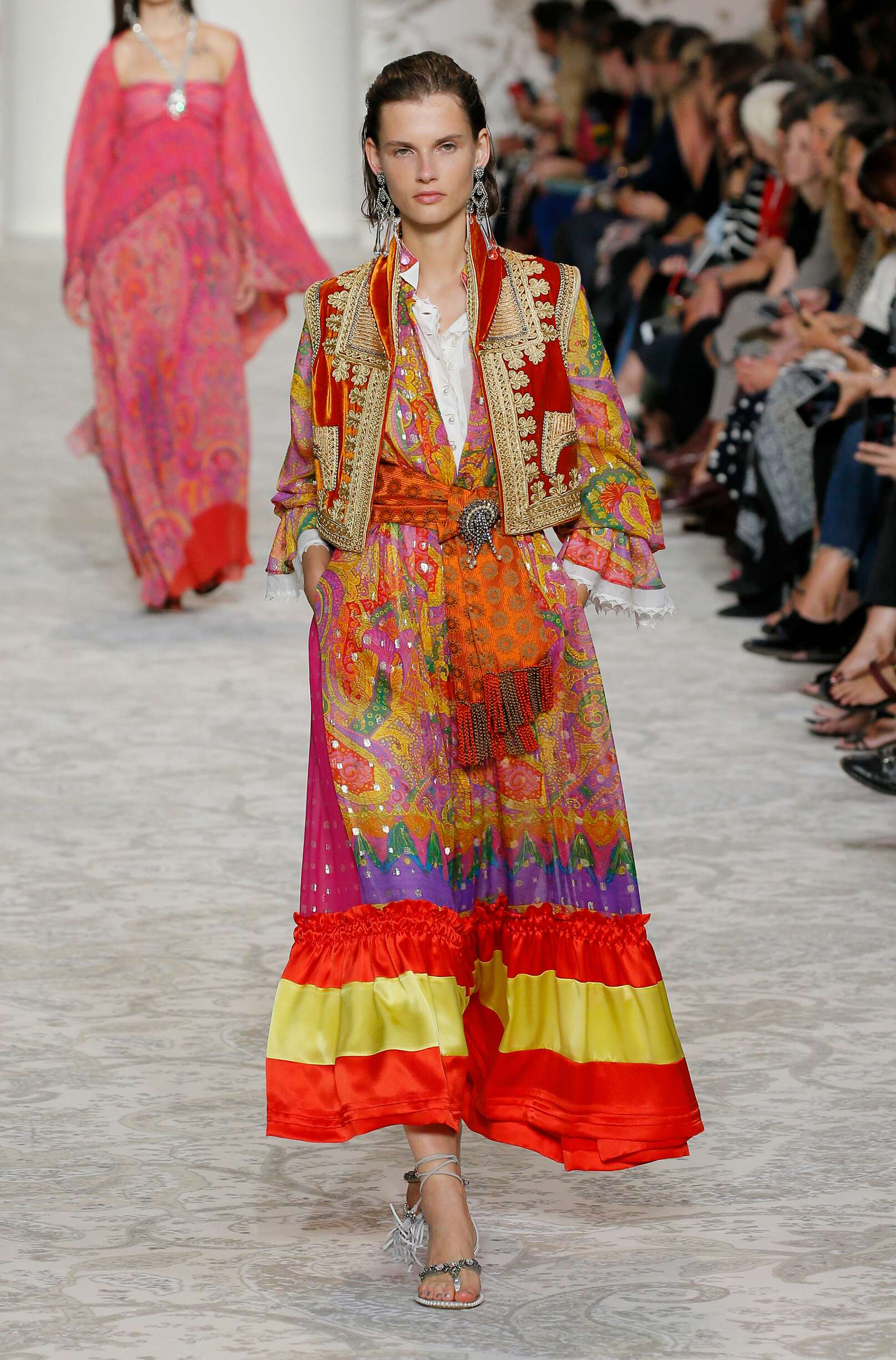 Etro Summer 2018 Catwalk