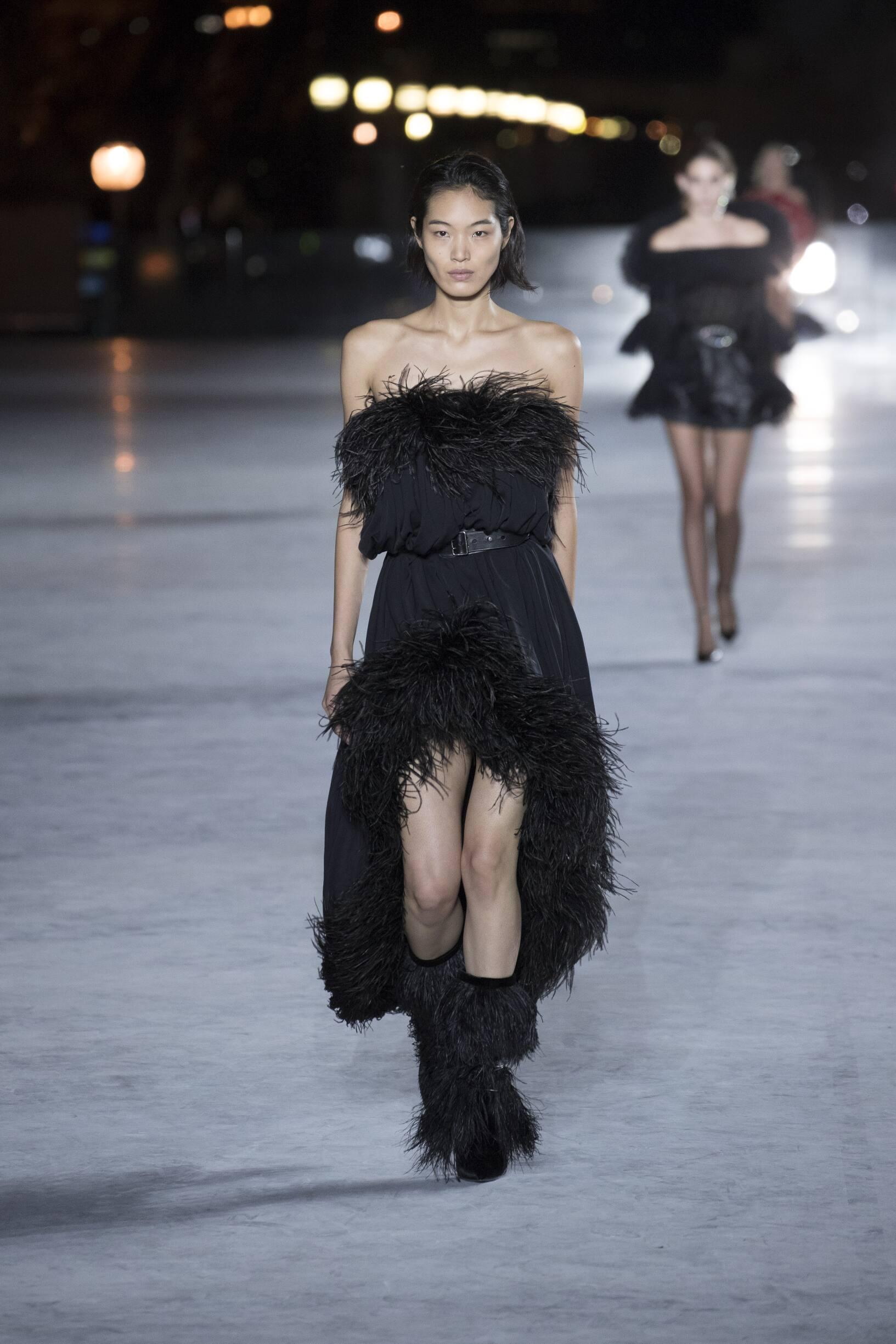 Fashion 2018 Catwalk Saint Laurent Summer Womens Collection