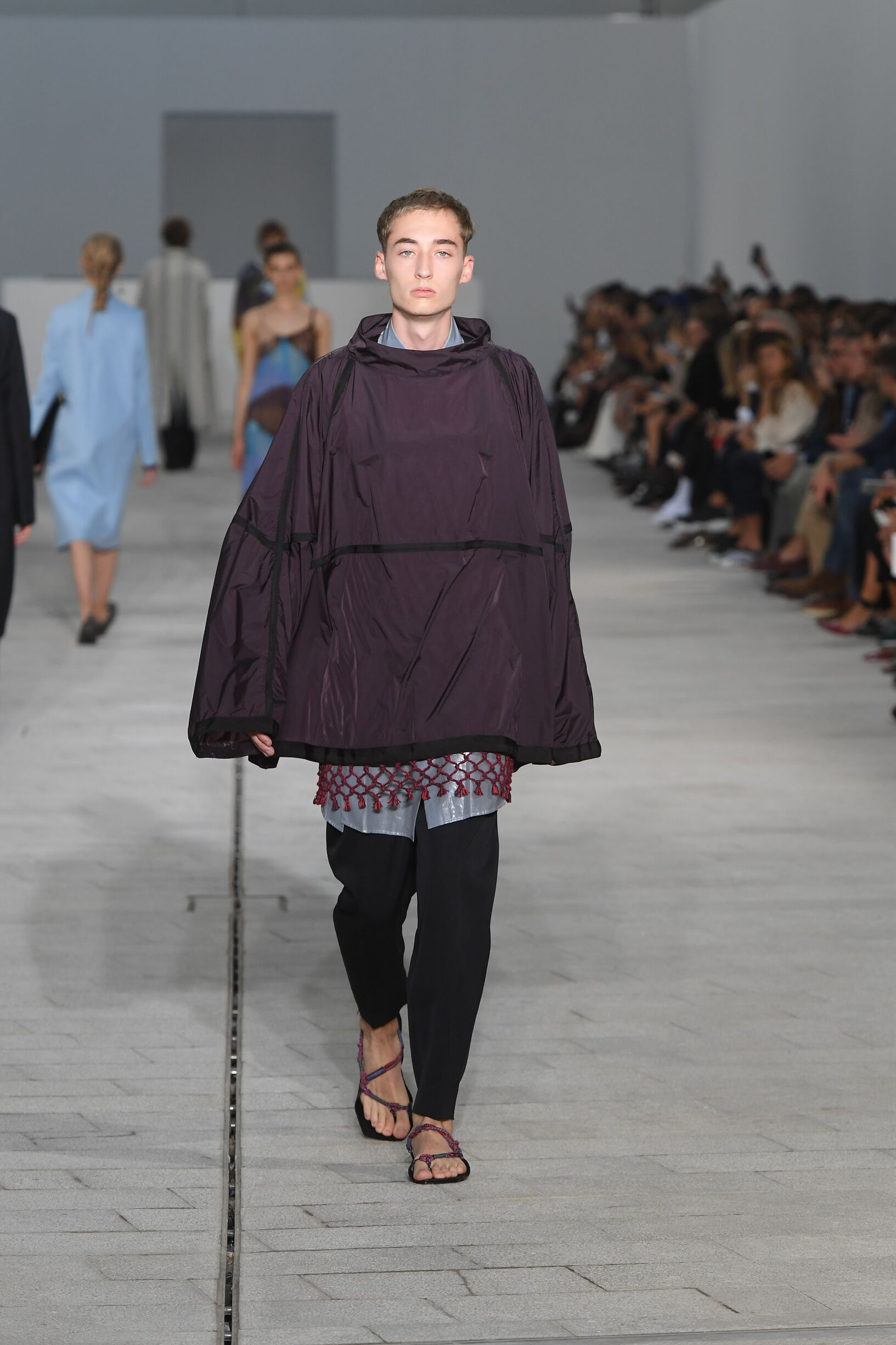 Fashion 2018 Runway Man Jil Sander Summer