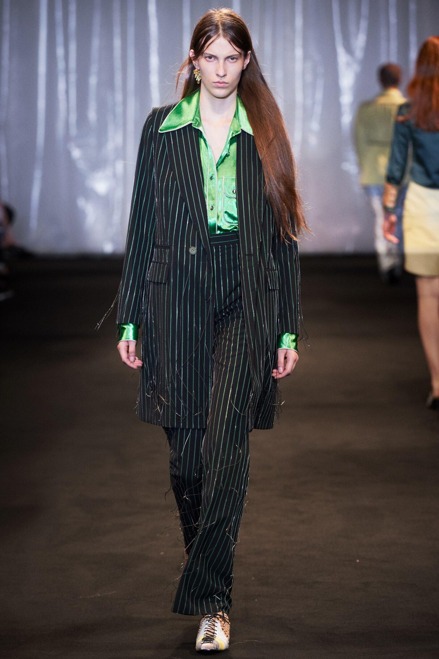 Fashion Model Acne Studios Catwalk