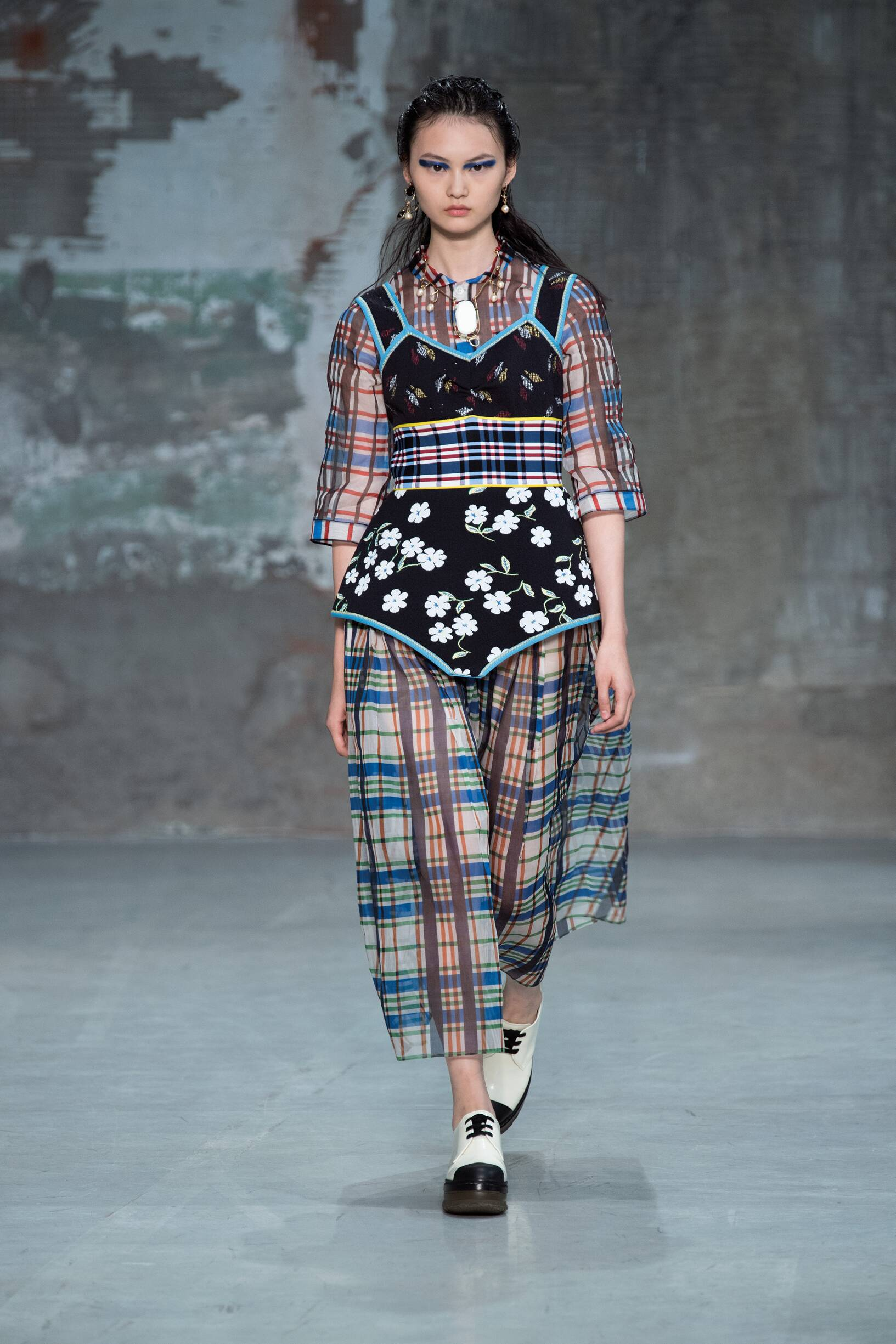 Fashion Model Marni Catwalk