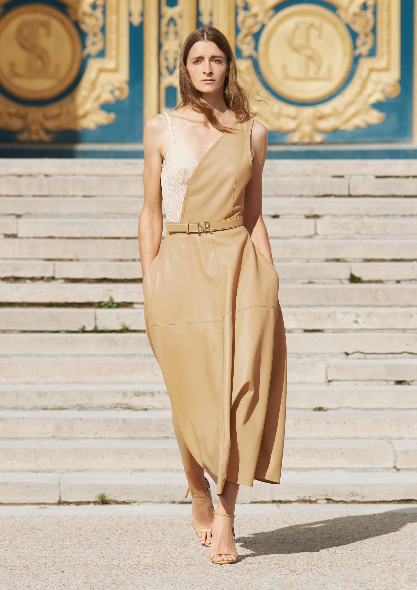 Fashion Model Nina Ricci Catwalk