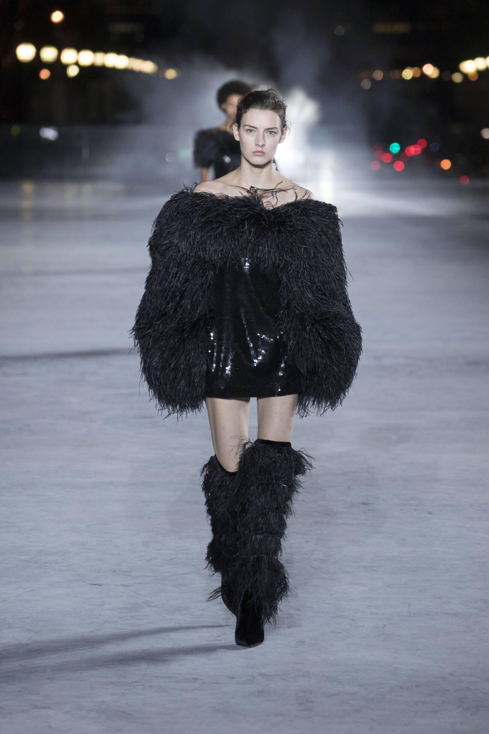 Fashion Trends 2018 Catwalk Saint Laurent Summer Womens Collection