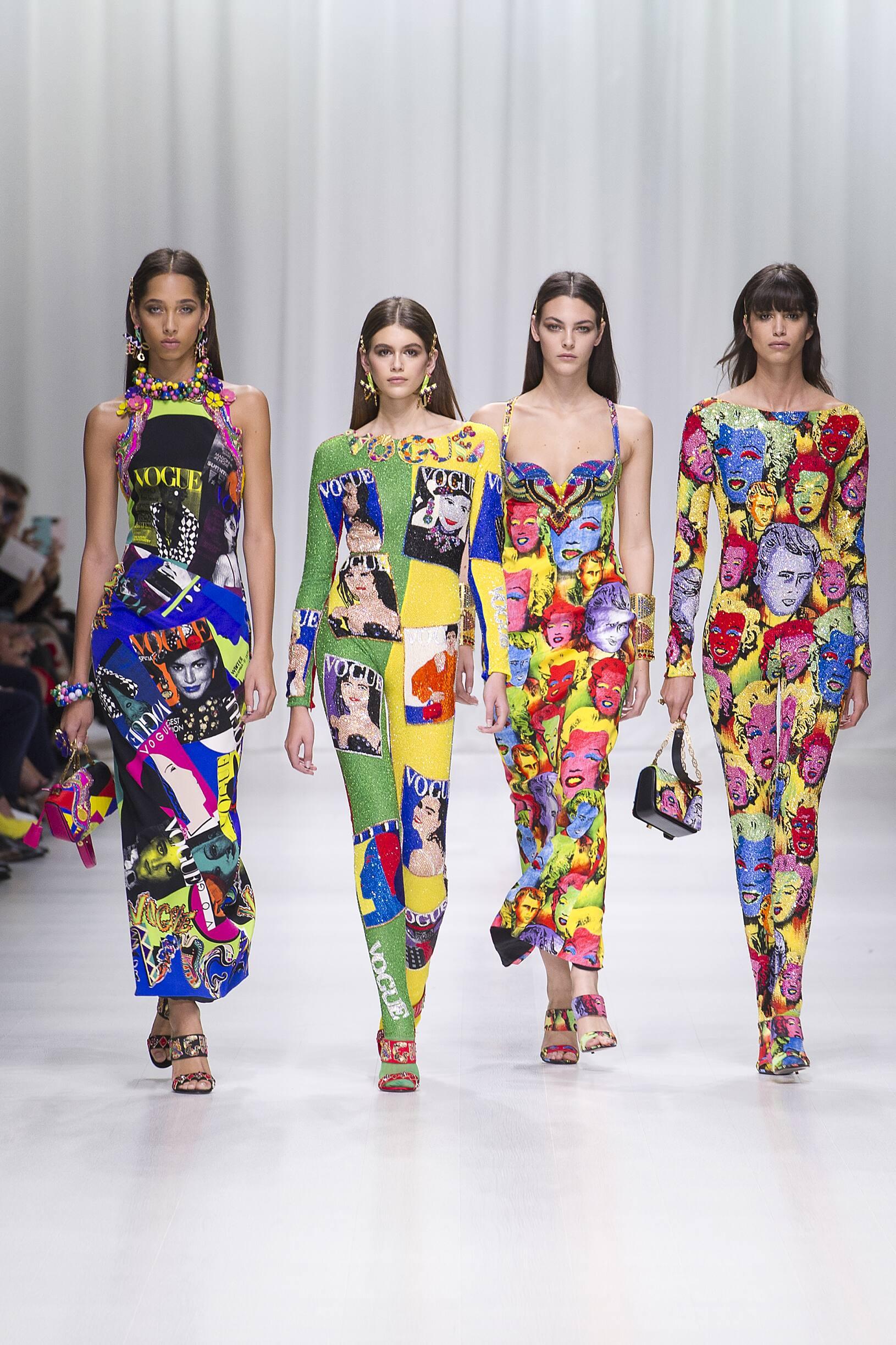 Fashion Week 2018 Catwalk Versace