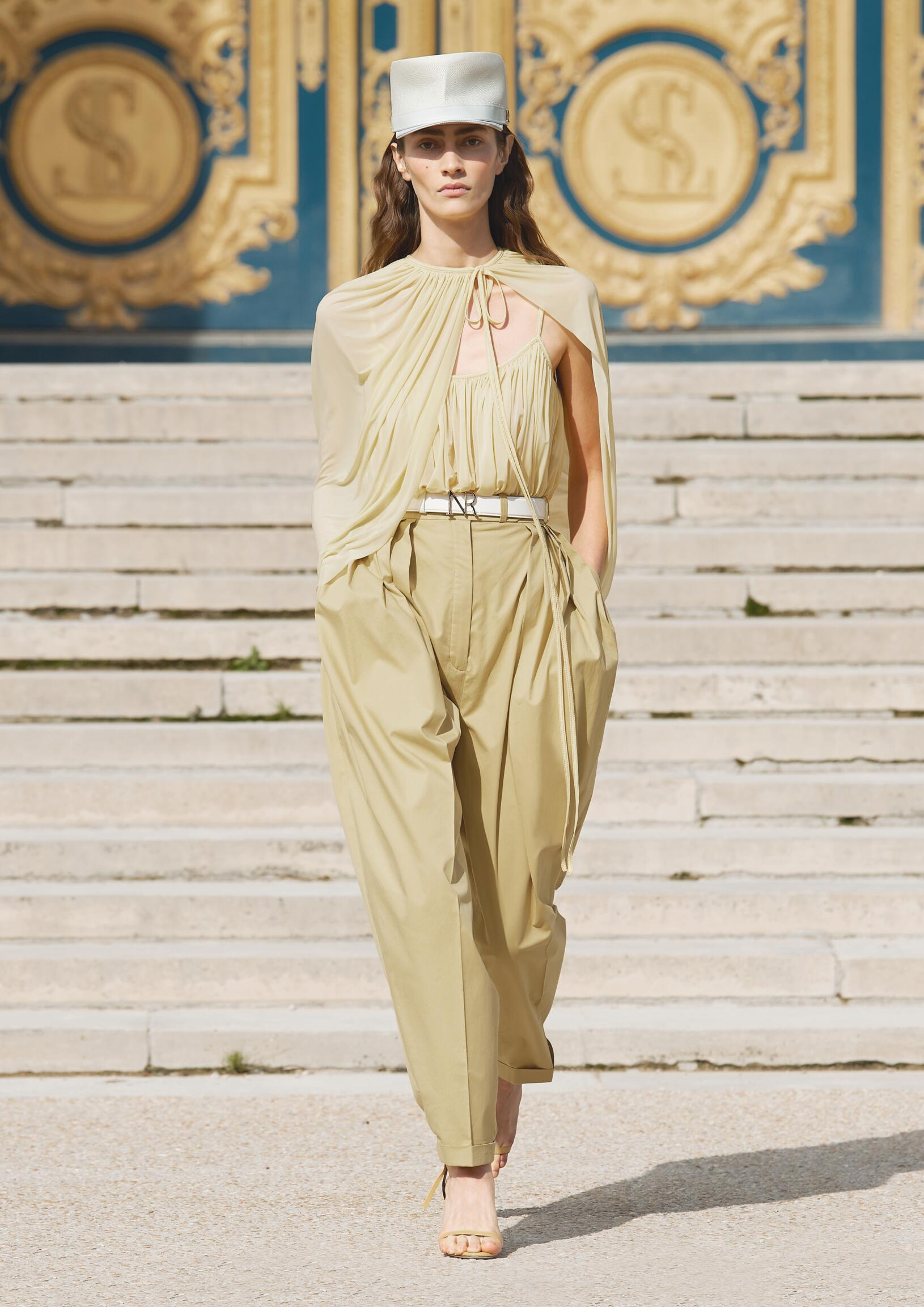 Fashion Woman Model Nina Ricci Catwalk