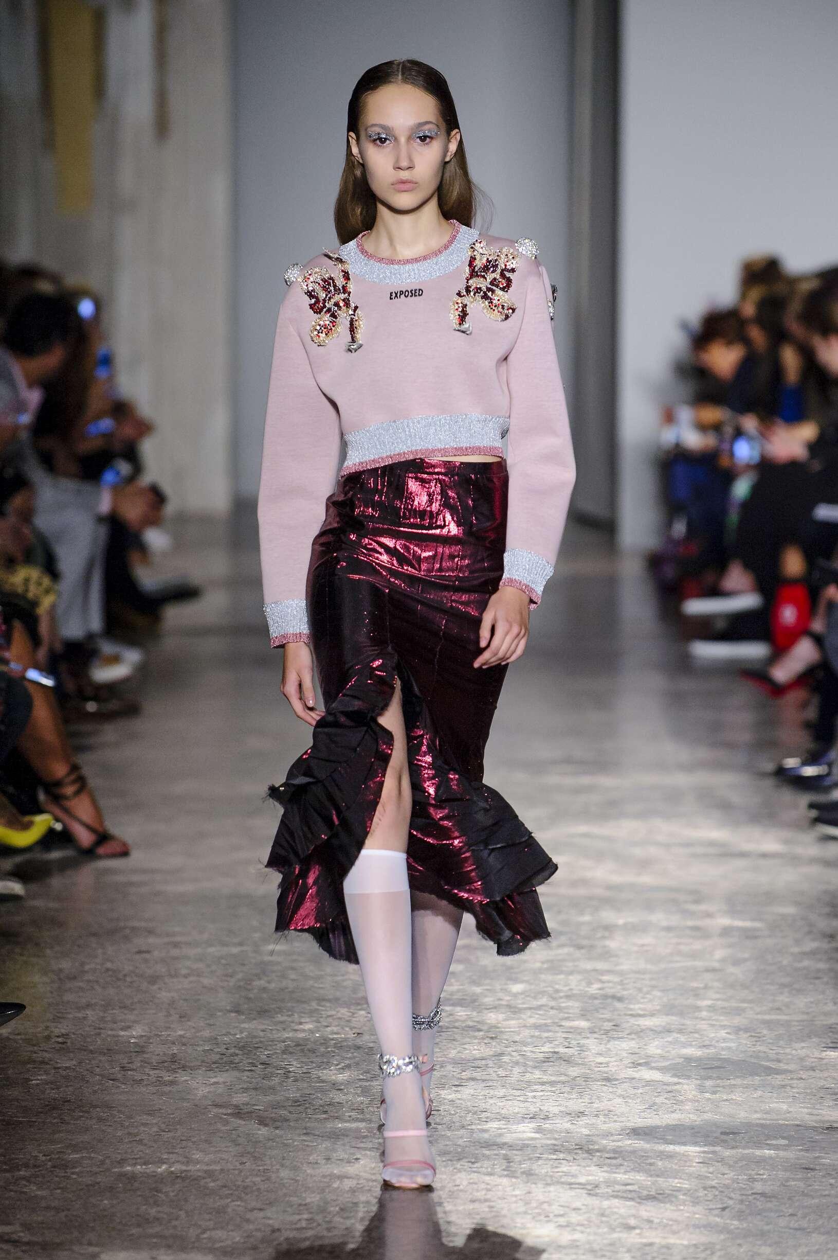 Francesco Scognamiglio Milan Fashion Week Womenswear