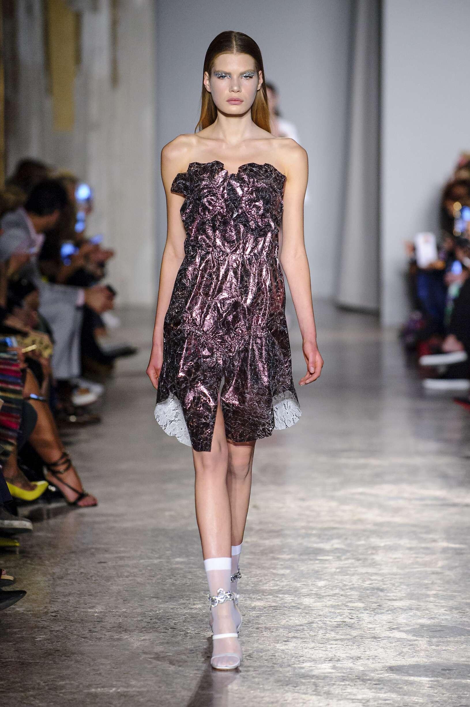 Francesco Scognamiglio Milan Fashion Week