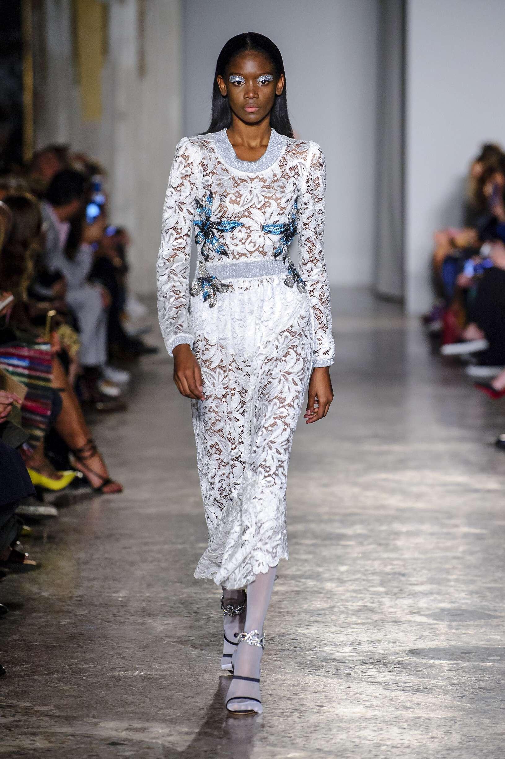 Francesco Scognamiglio Spring Summer 2018 Womens Collection Milan Fashion Week