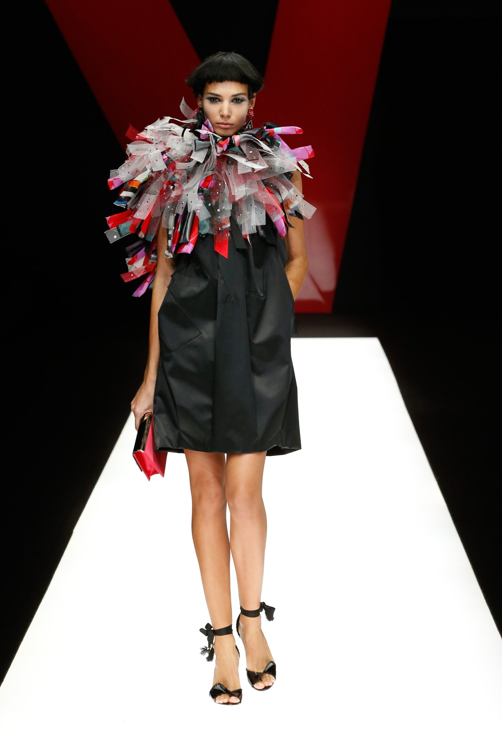 Model Fashion Show Giorgio Armani