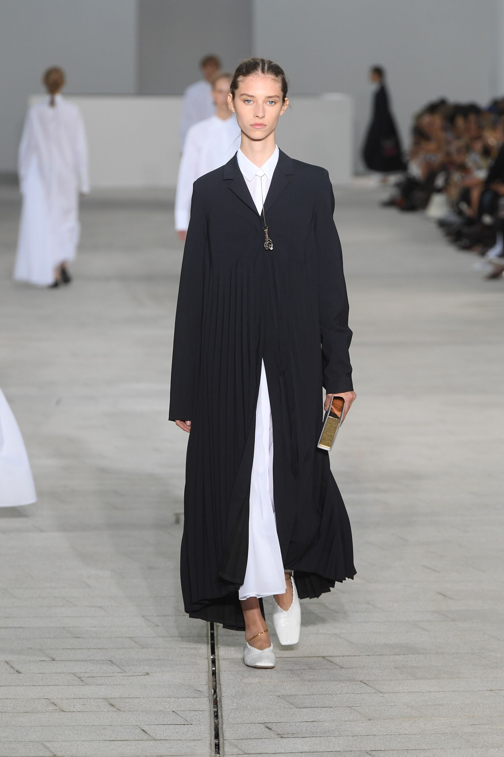 Model Fashion Show Jil Sander
